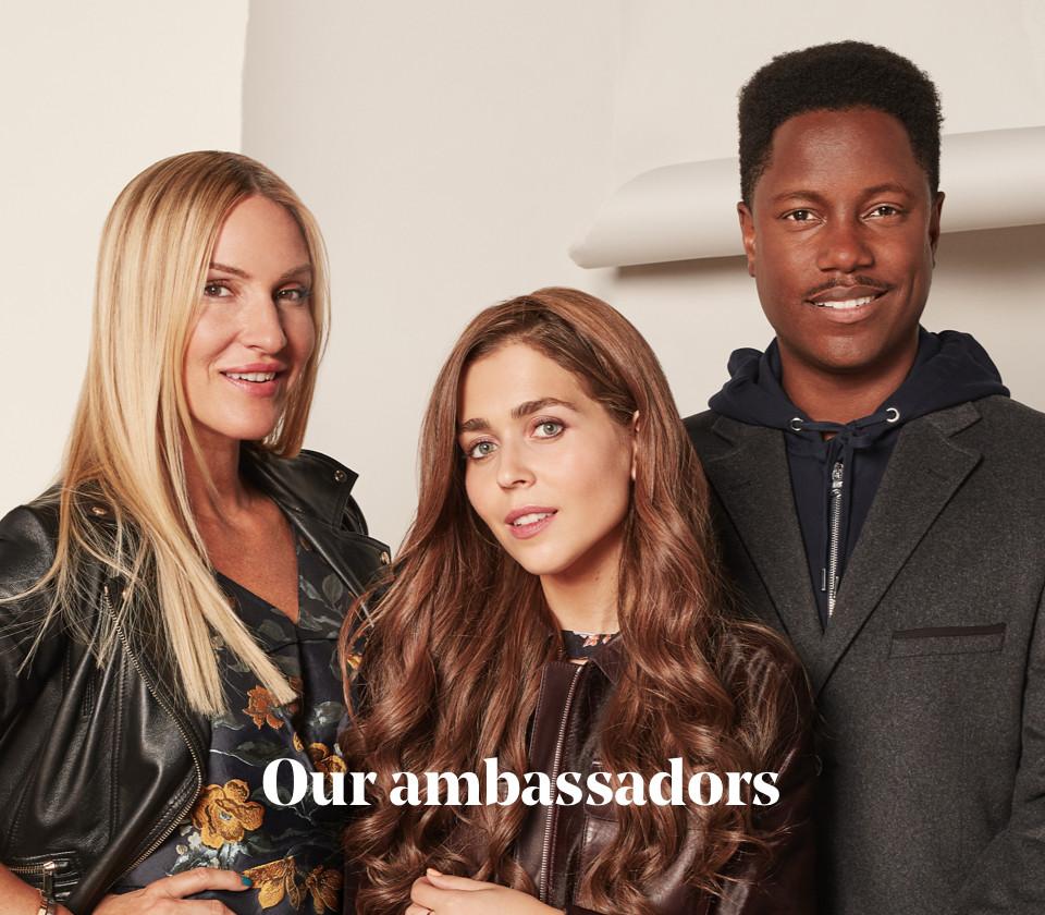 Our ambassadors