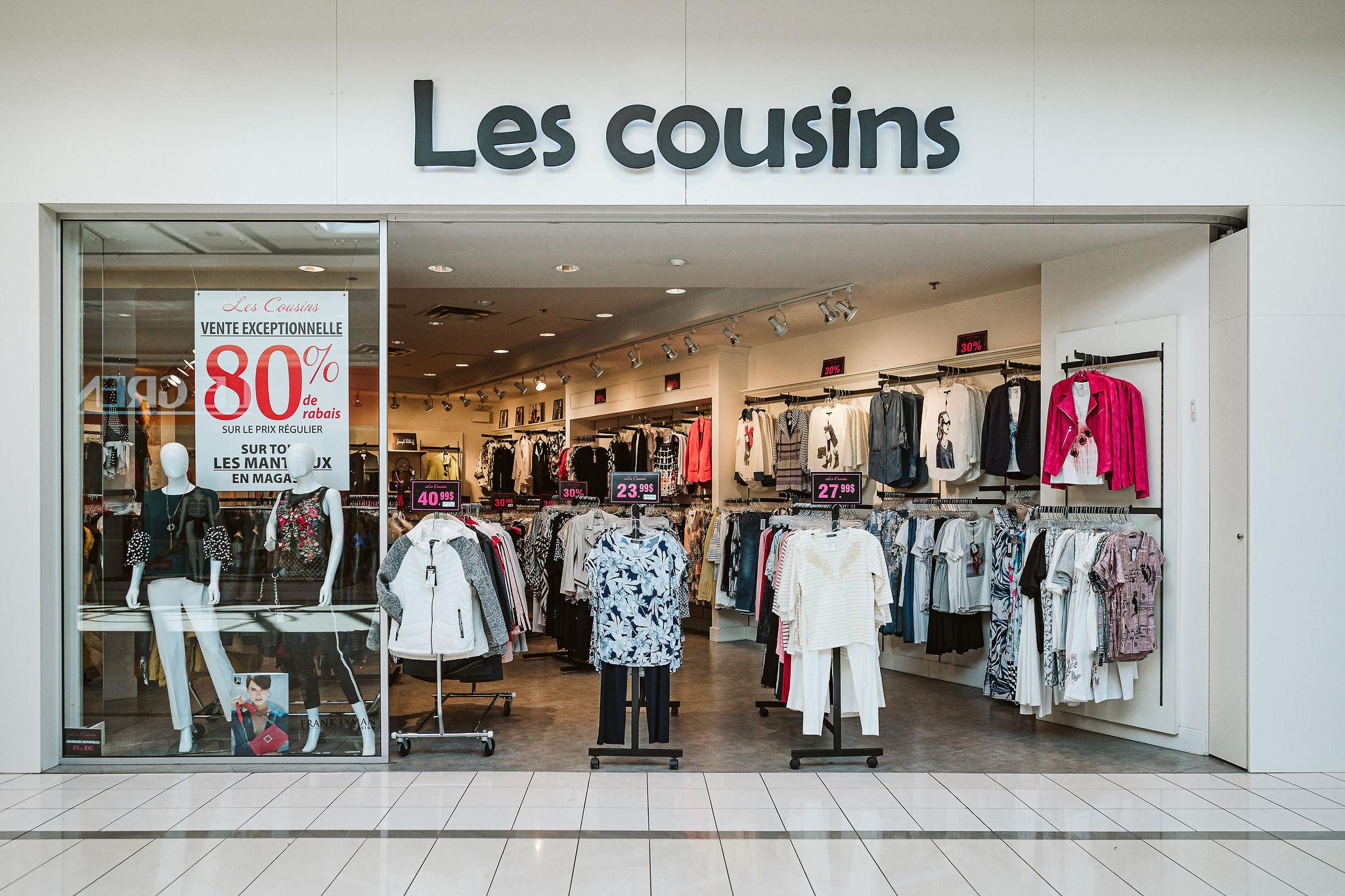 Les Cousins - Mail Champlain