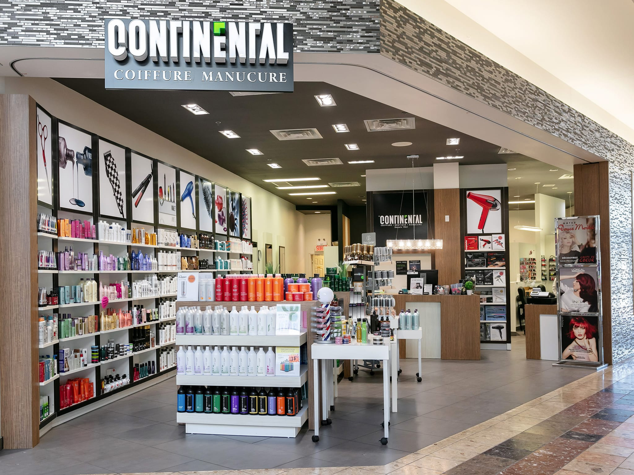 Continental Coiffure - galeries - rive - nord