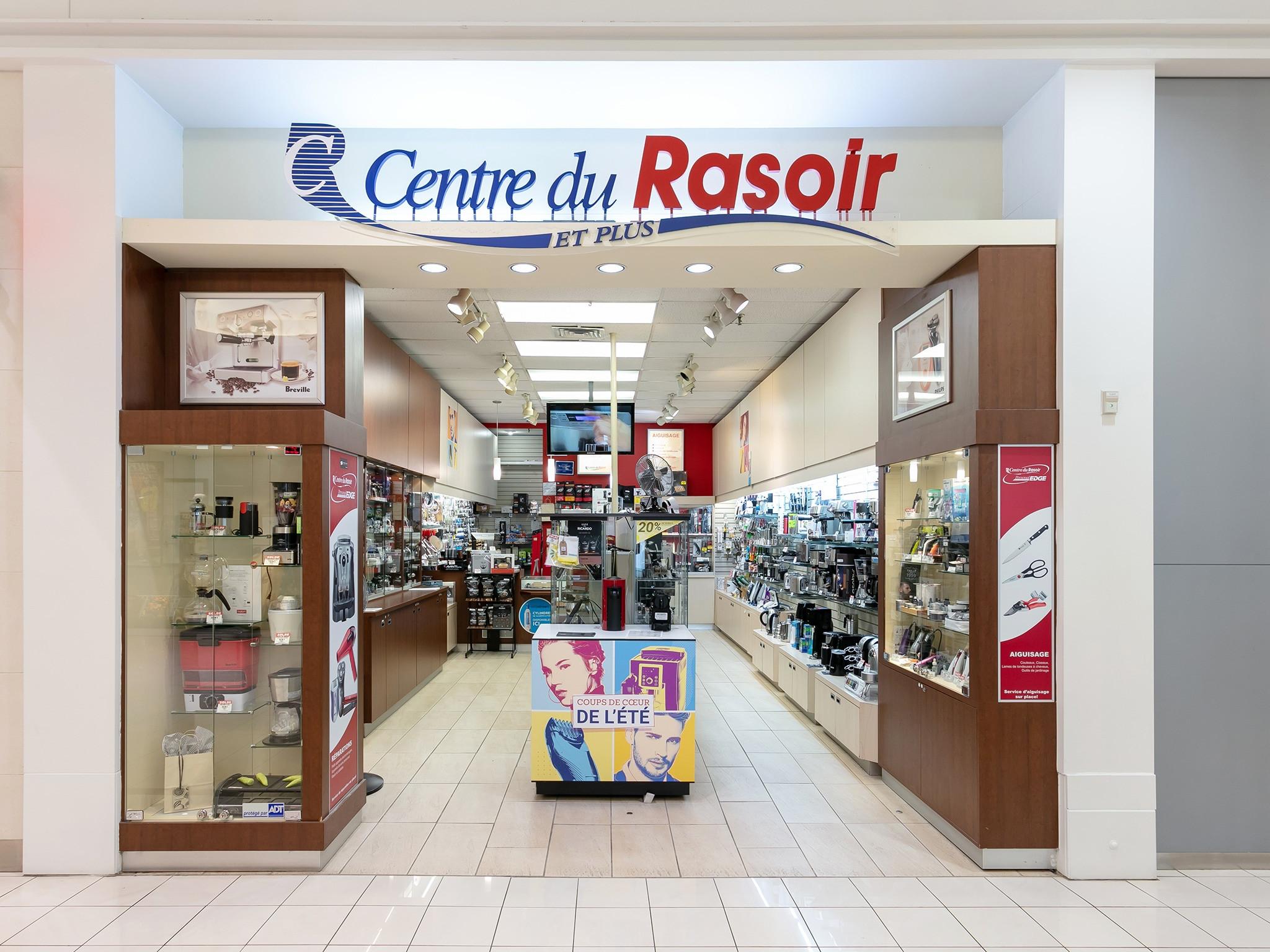 Centre du rasoir - Mail Champlain