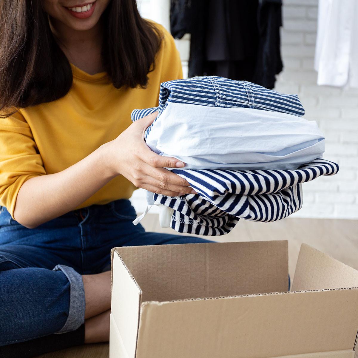 dons de vêtements