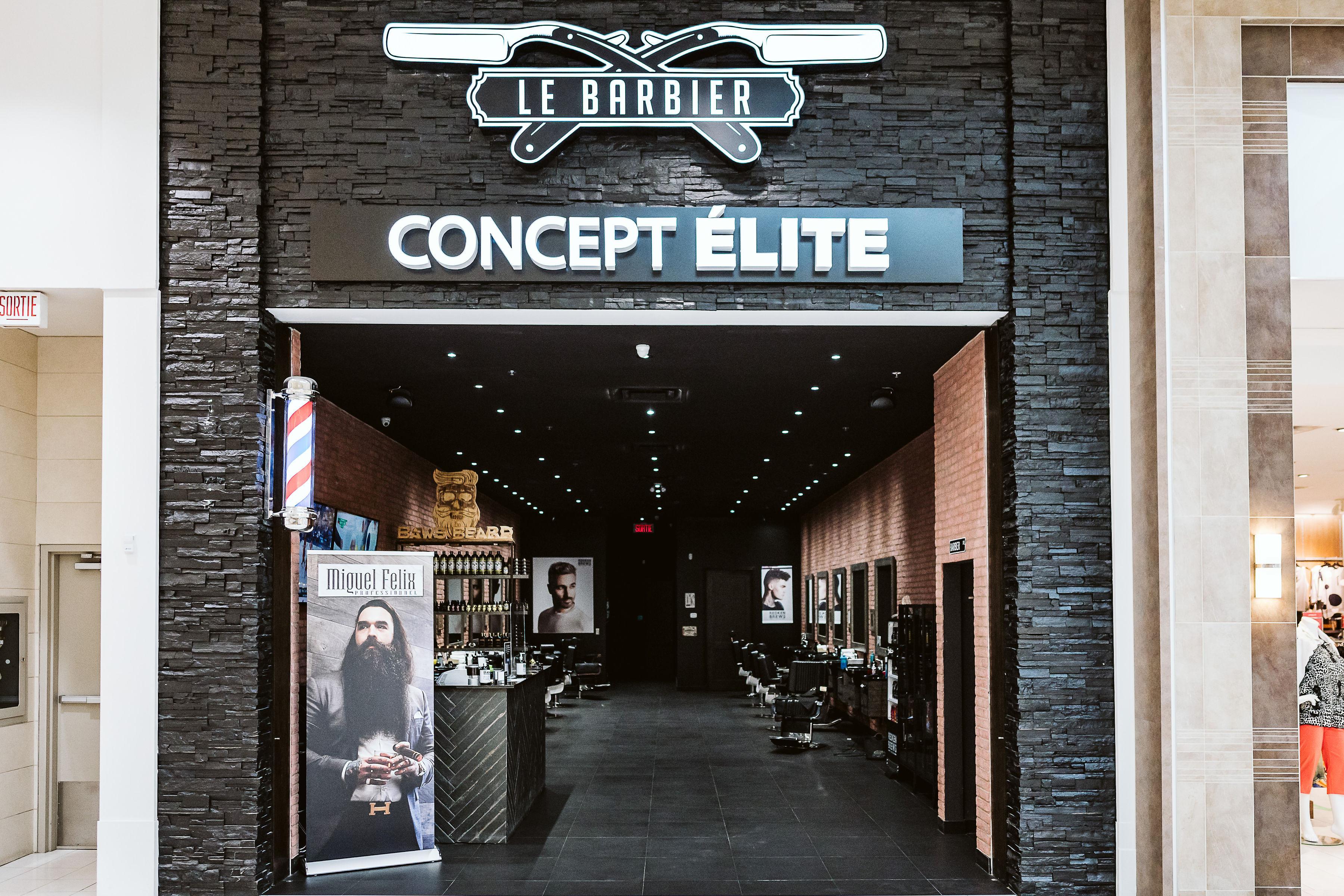 Concept Élite Le Barbier - Mail Champlain