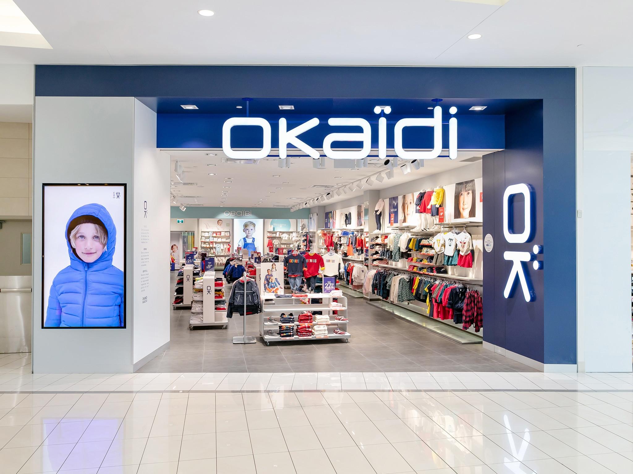 Okaïdi - Obaïbi - Mail Champlain