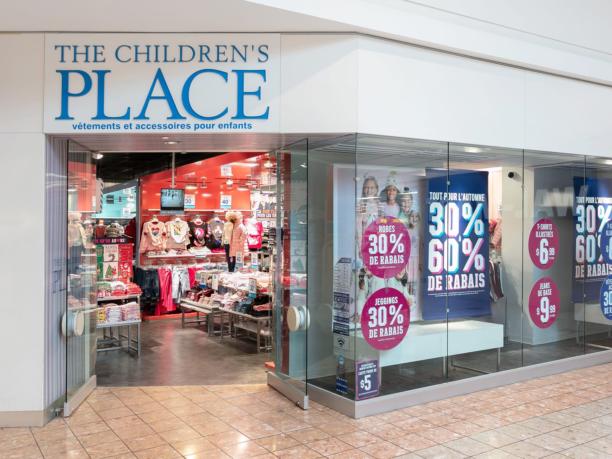 The Children's Place - galeries - rive - nord