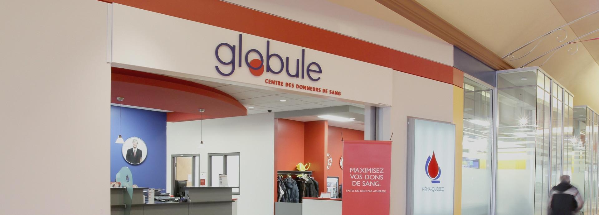Centre des donneurs de sang Globule - DUO