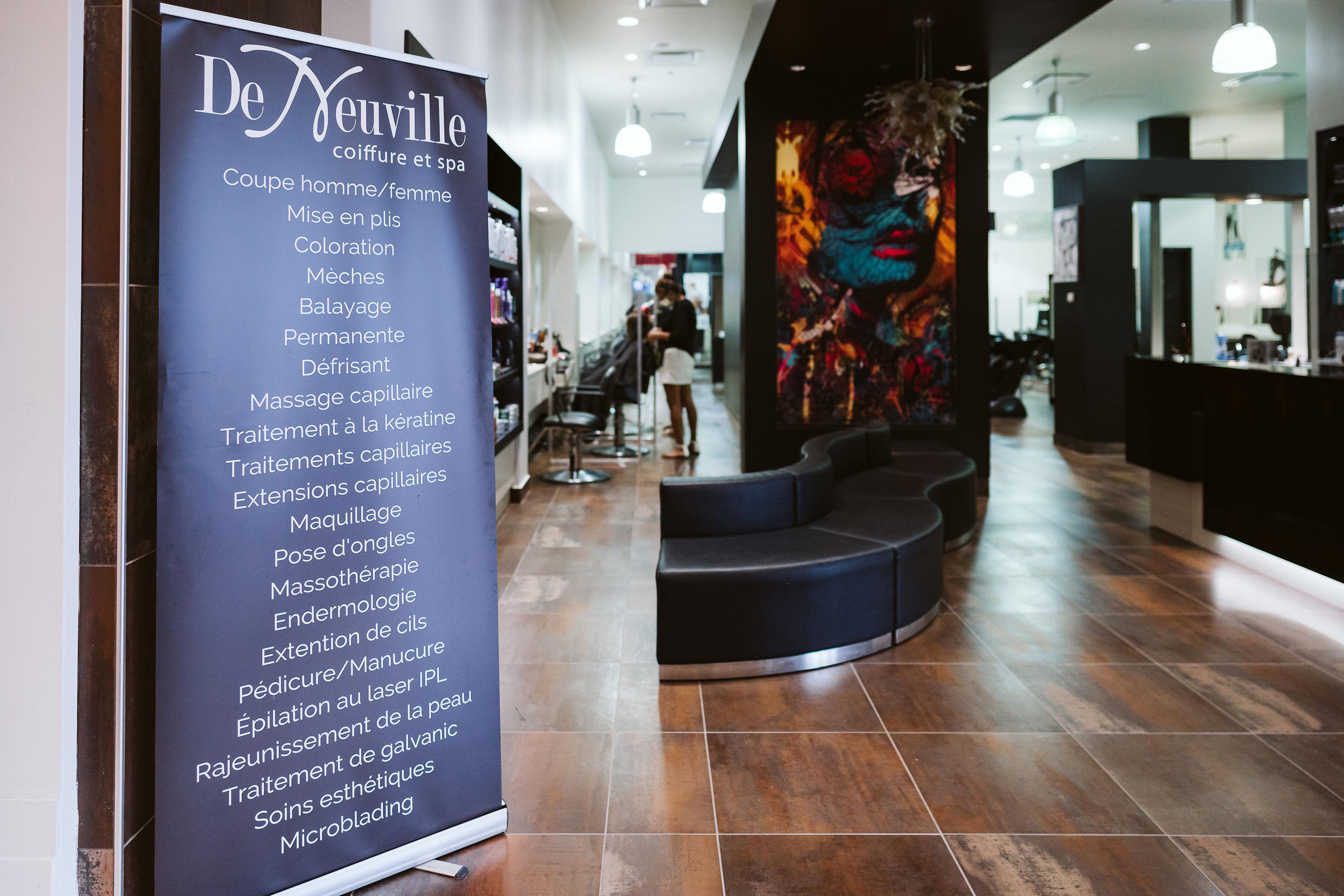 De Neuville Coiffure et Spa - Mail Champlain