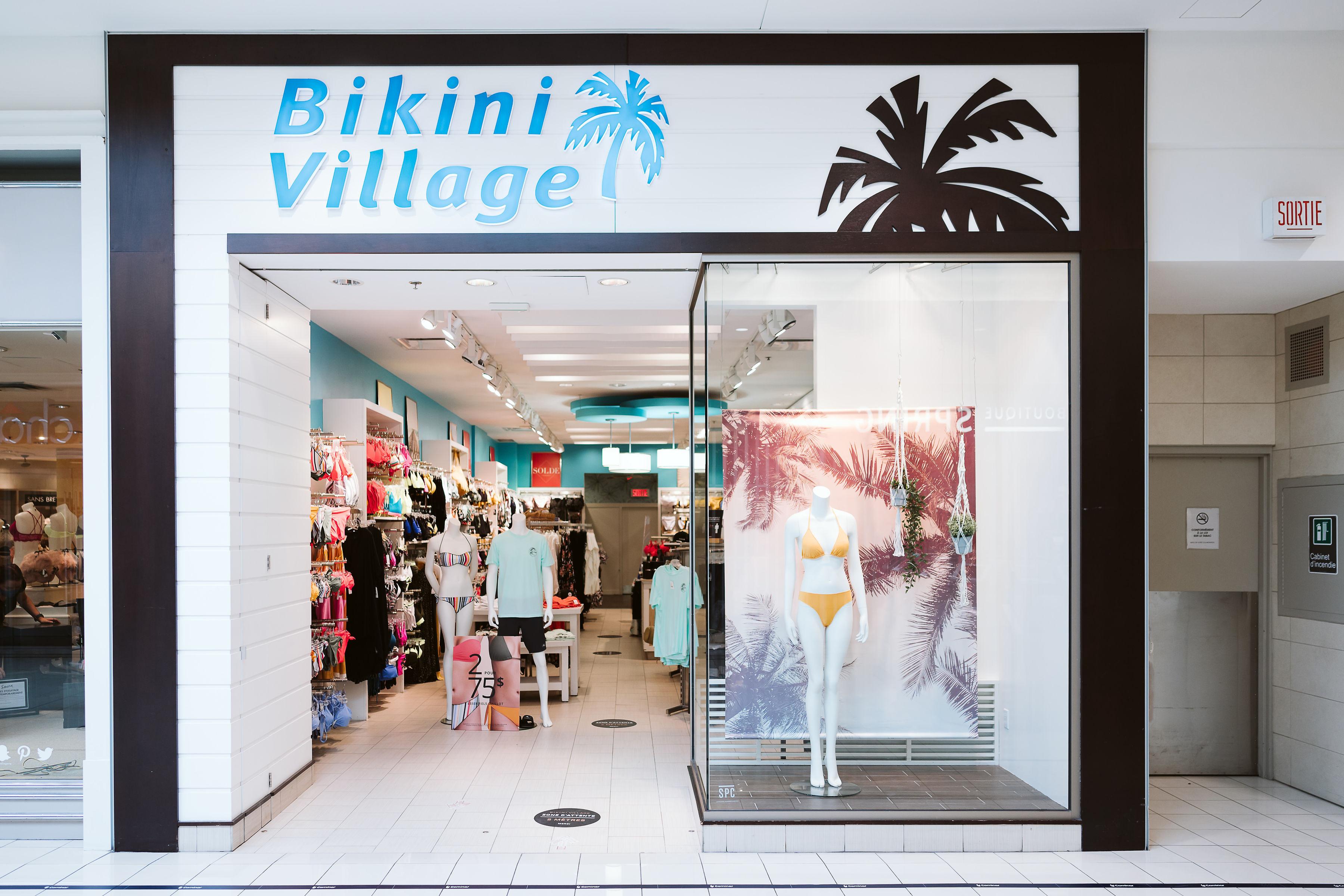 Bikini Village - Mail Champlain