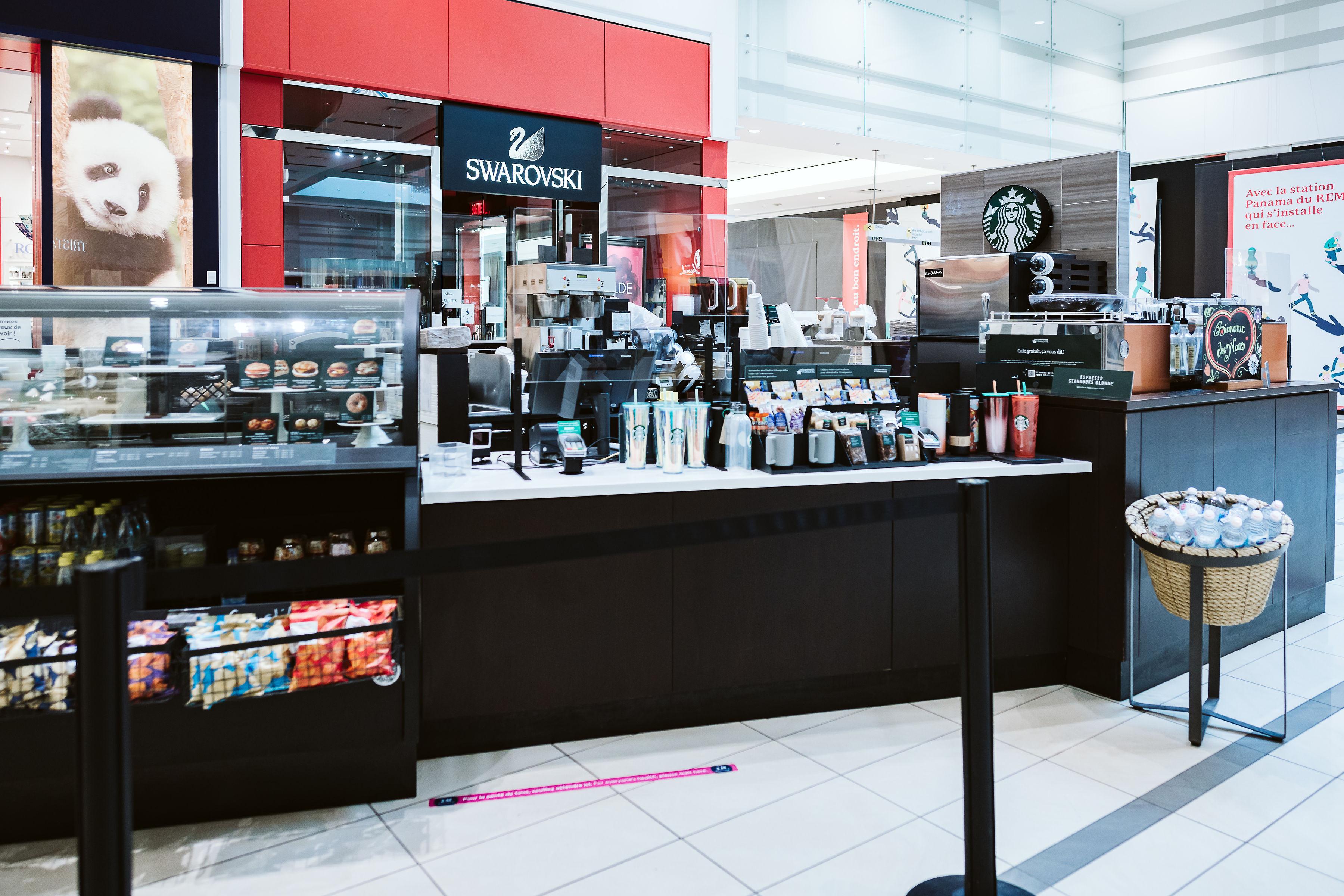 Starbucks Café - Mail Champlain