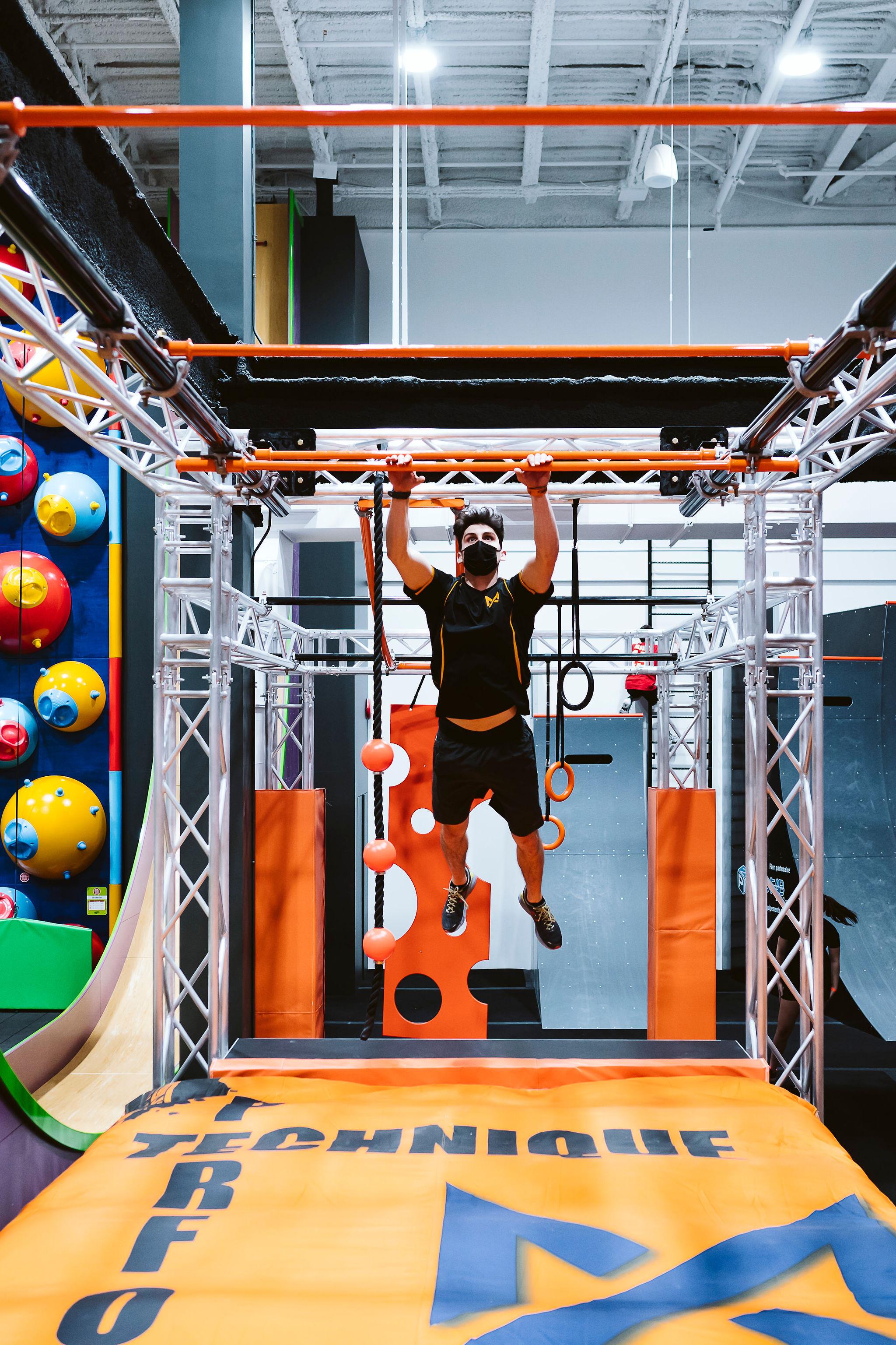 Maestrem Ninja Gym - Mail Champlain
