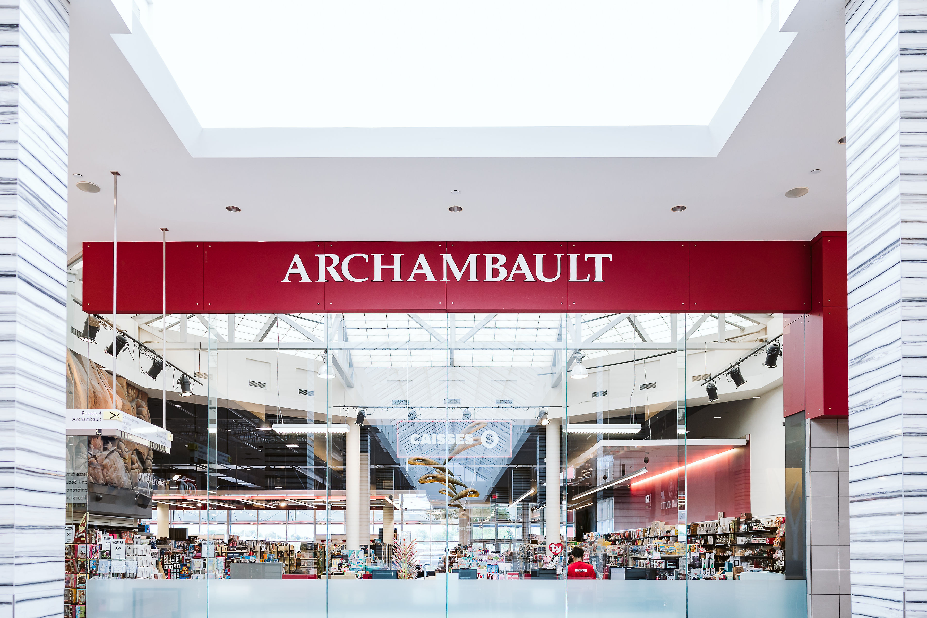 Archambault - Mail Champlain