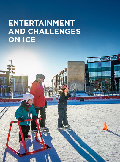 Entertainment and challenges on ice - Centropolis