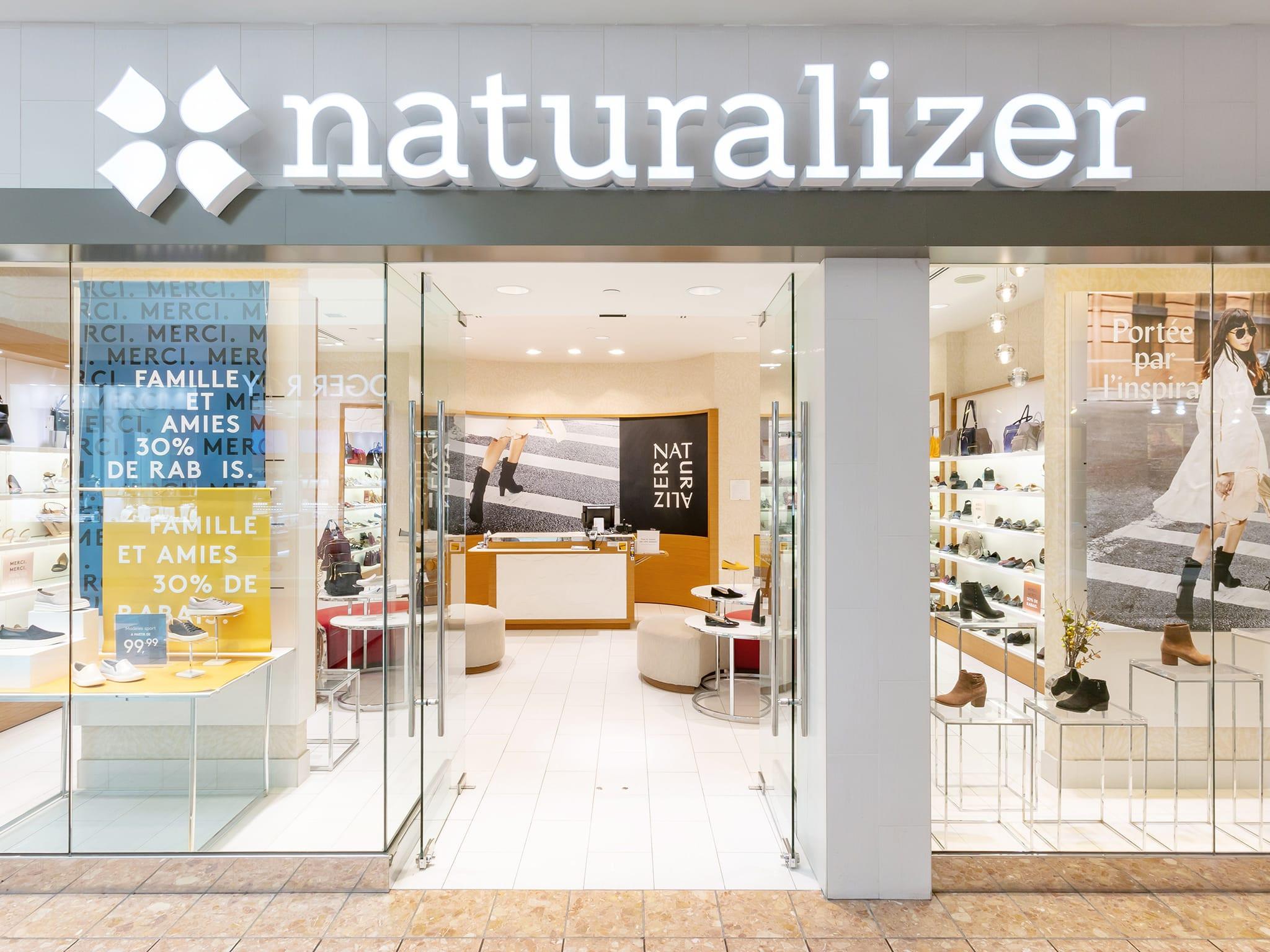 Naturalizer - galeries - rive - nord