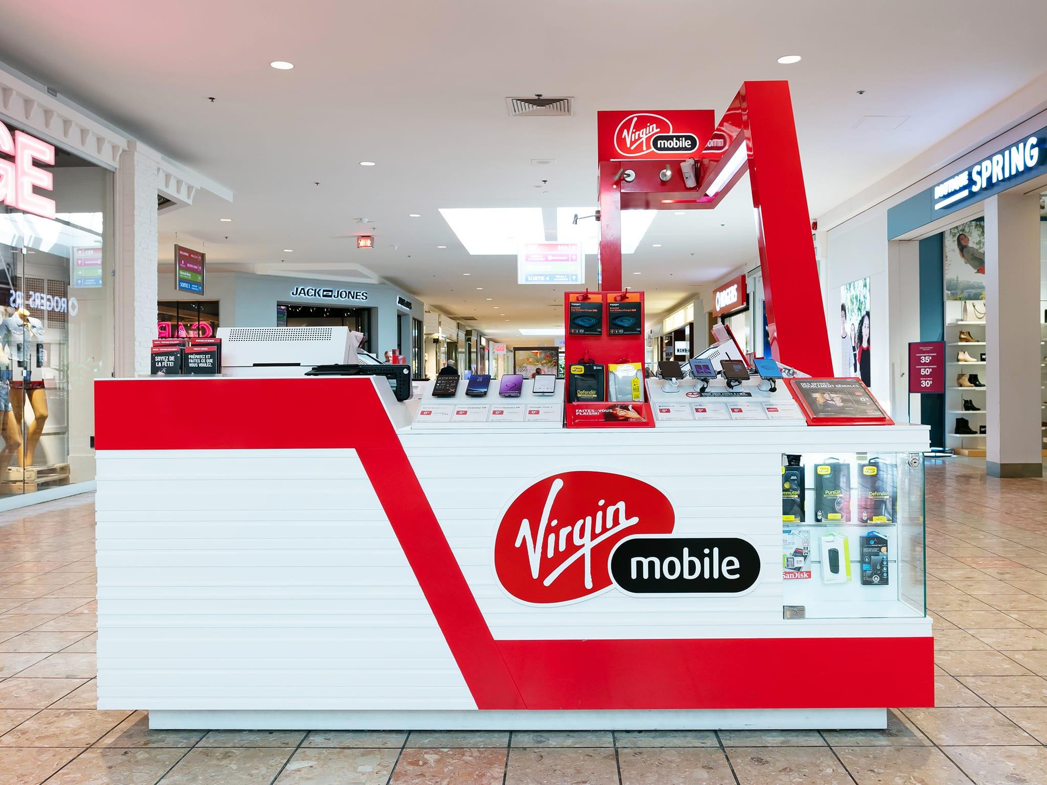 Virgin Mobile - galeries - rive - nord