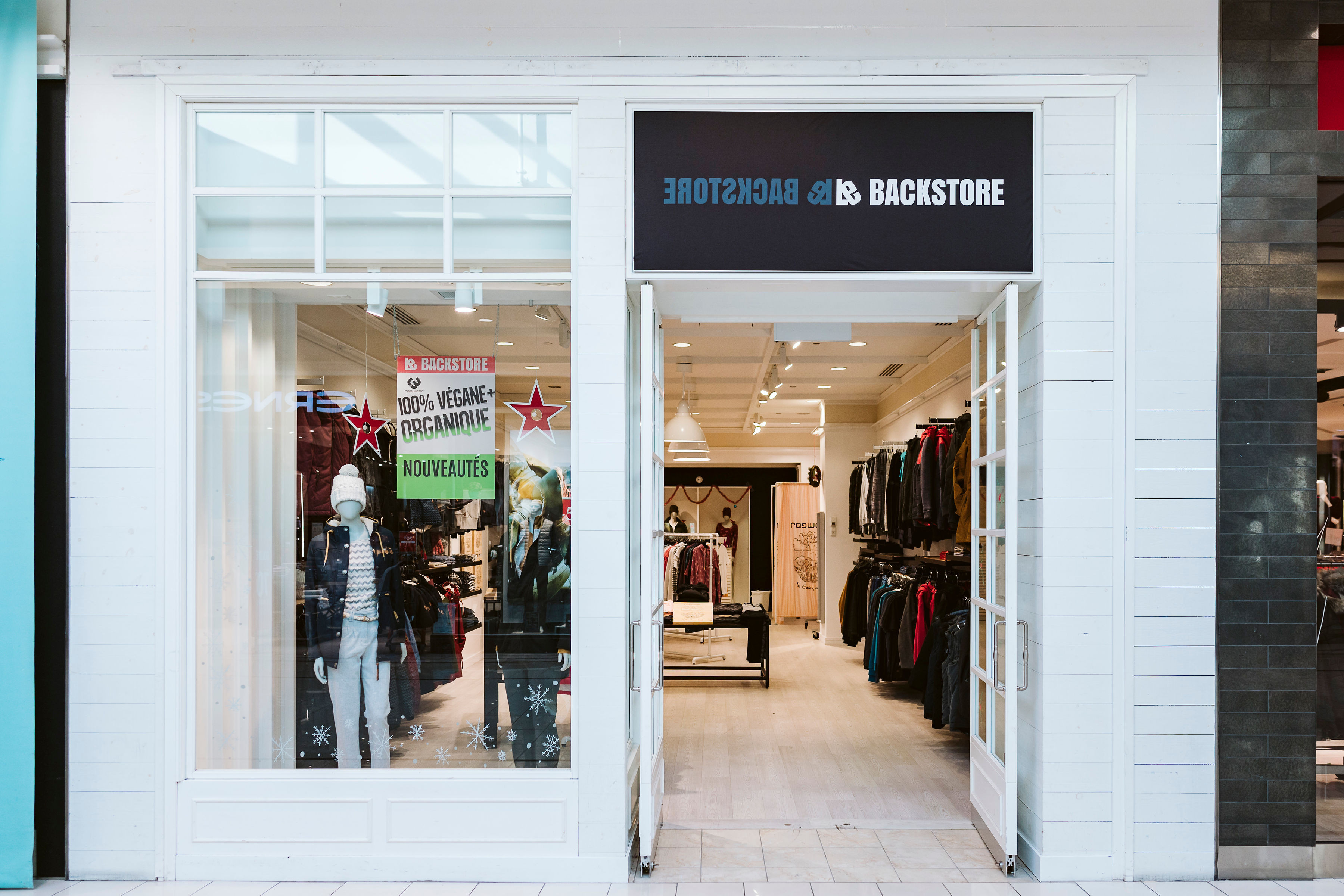 Le Backstore - Mail Champlain