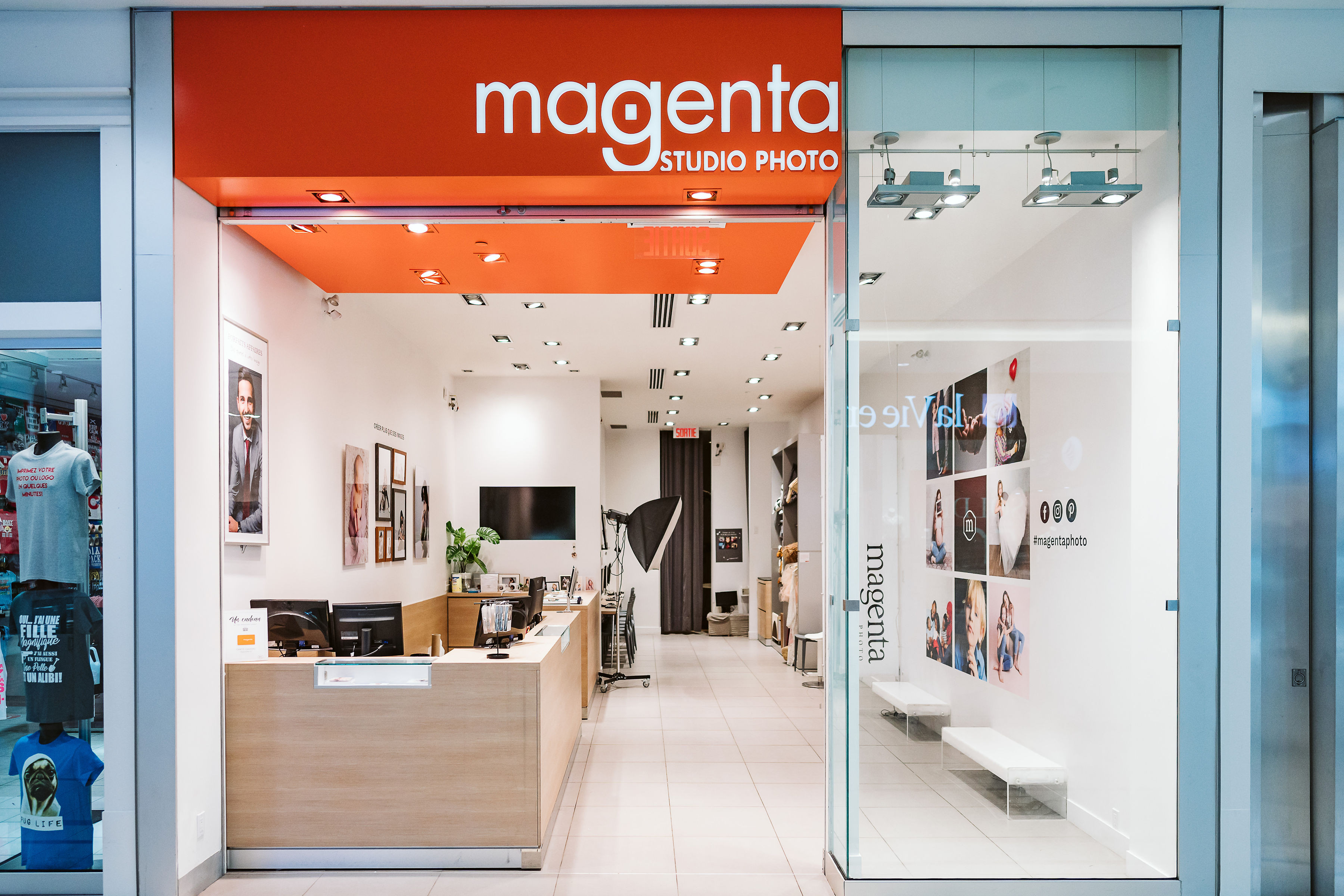 Magenta - Mail Champlain