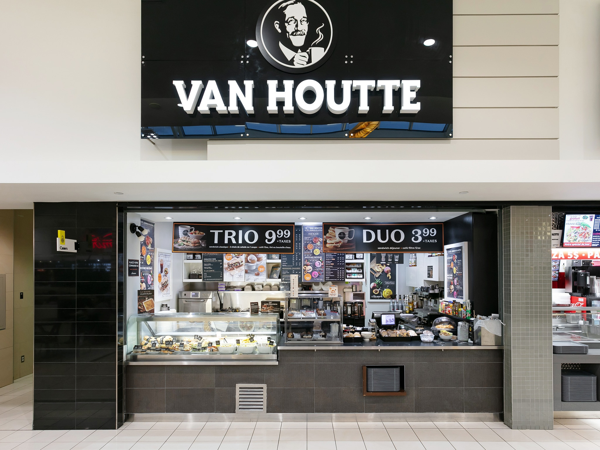 Van Houtte Café - Mail Champlain