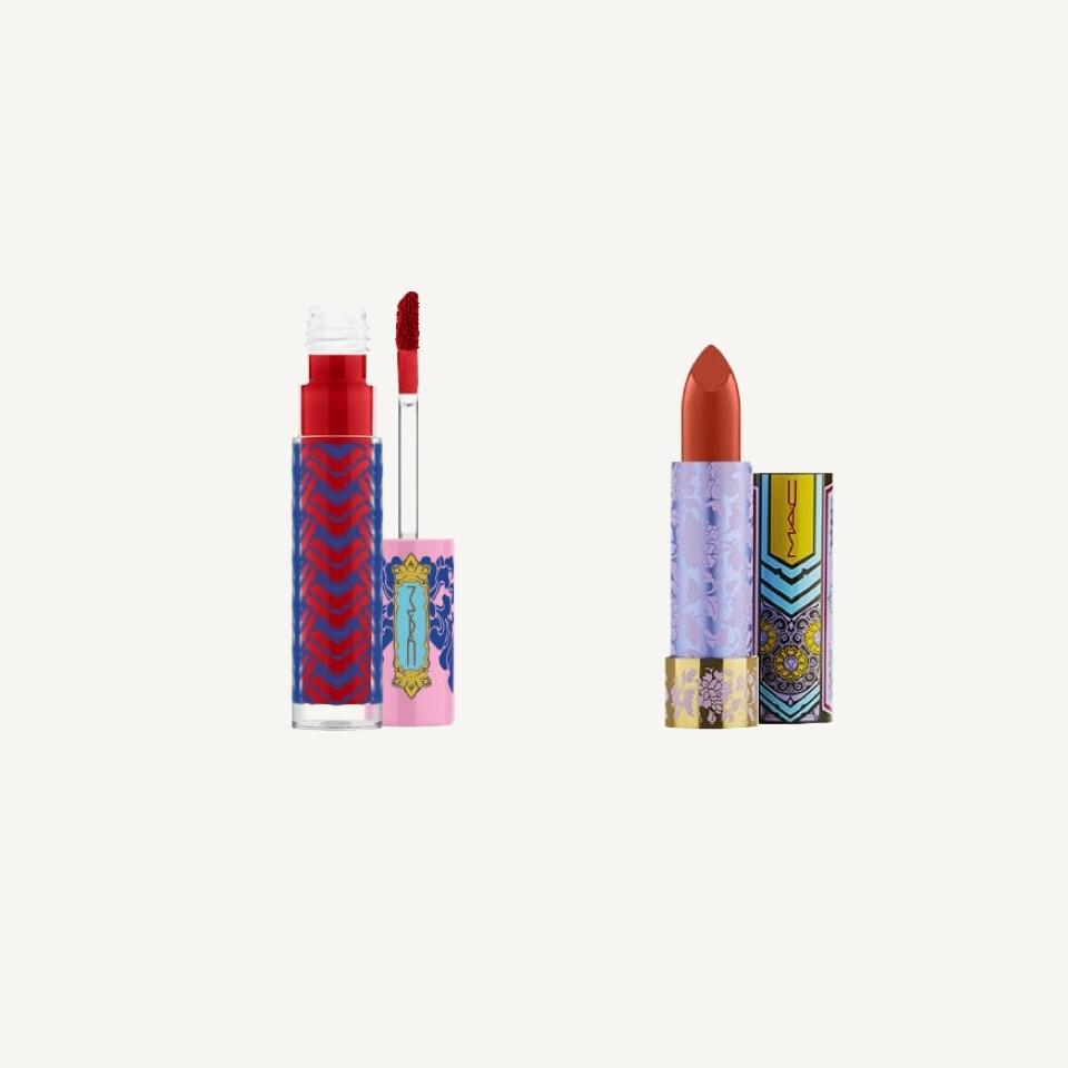 Rouge à lèvres et gloss rouges MAC Nouvel An lunaire - Rockland