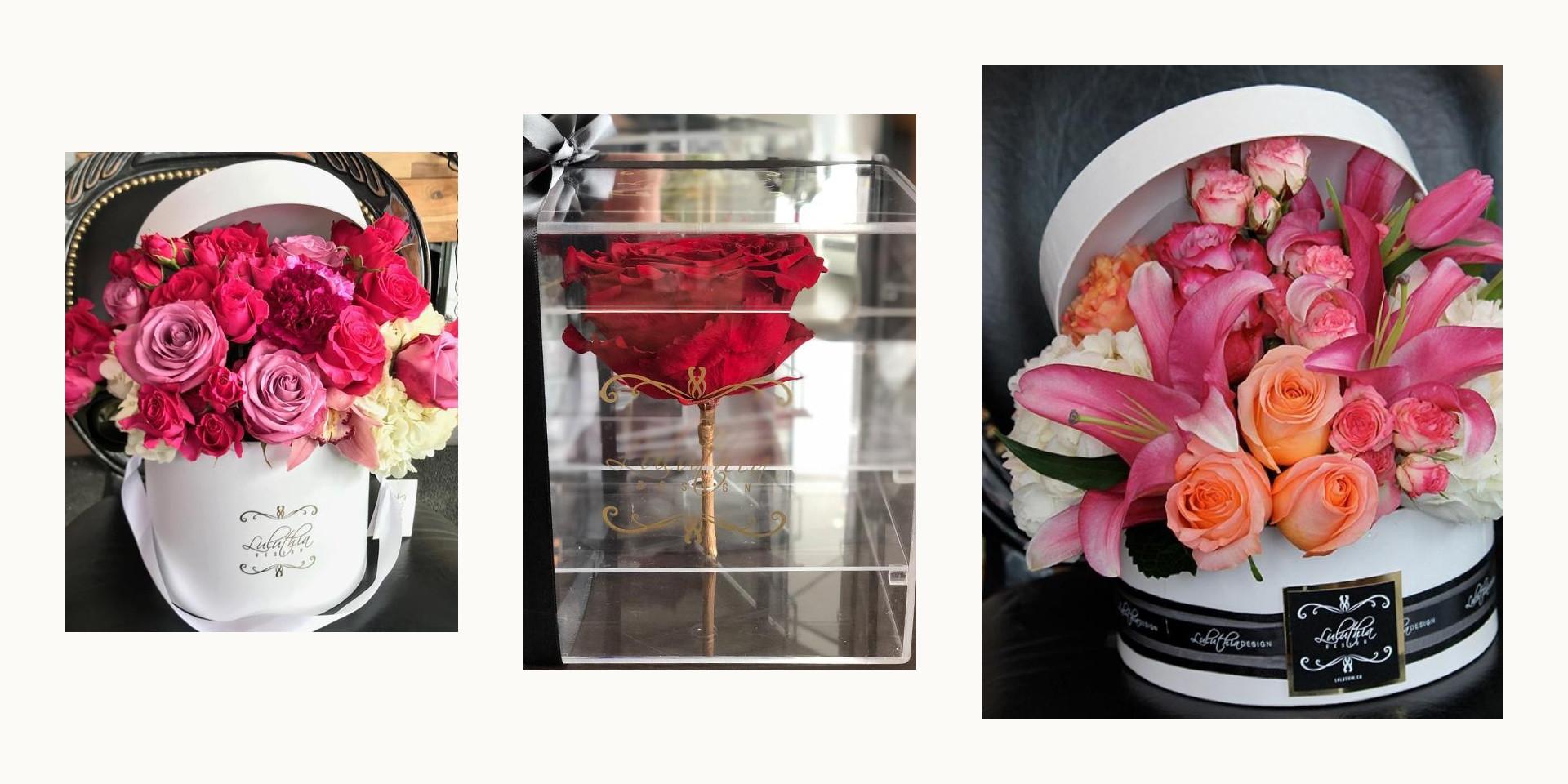 Valentine's Day roses Luluthia Design - Rockland