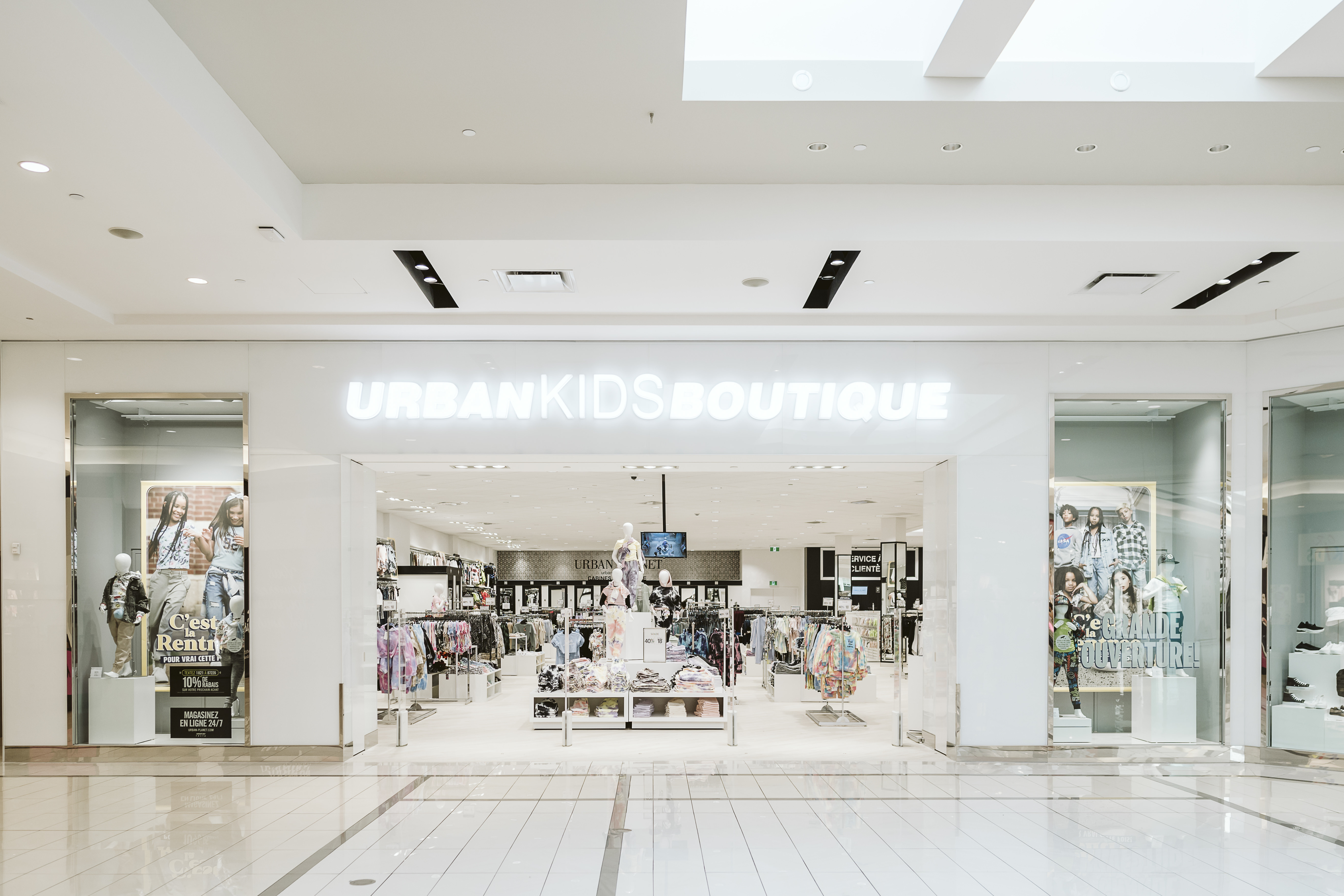 URBAN PLANET IS NOW OPEN !