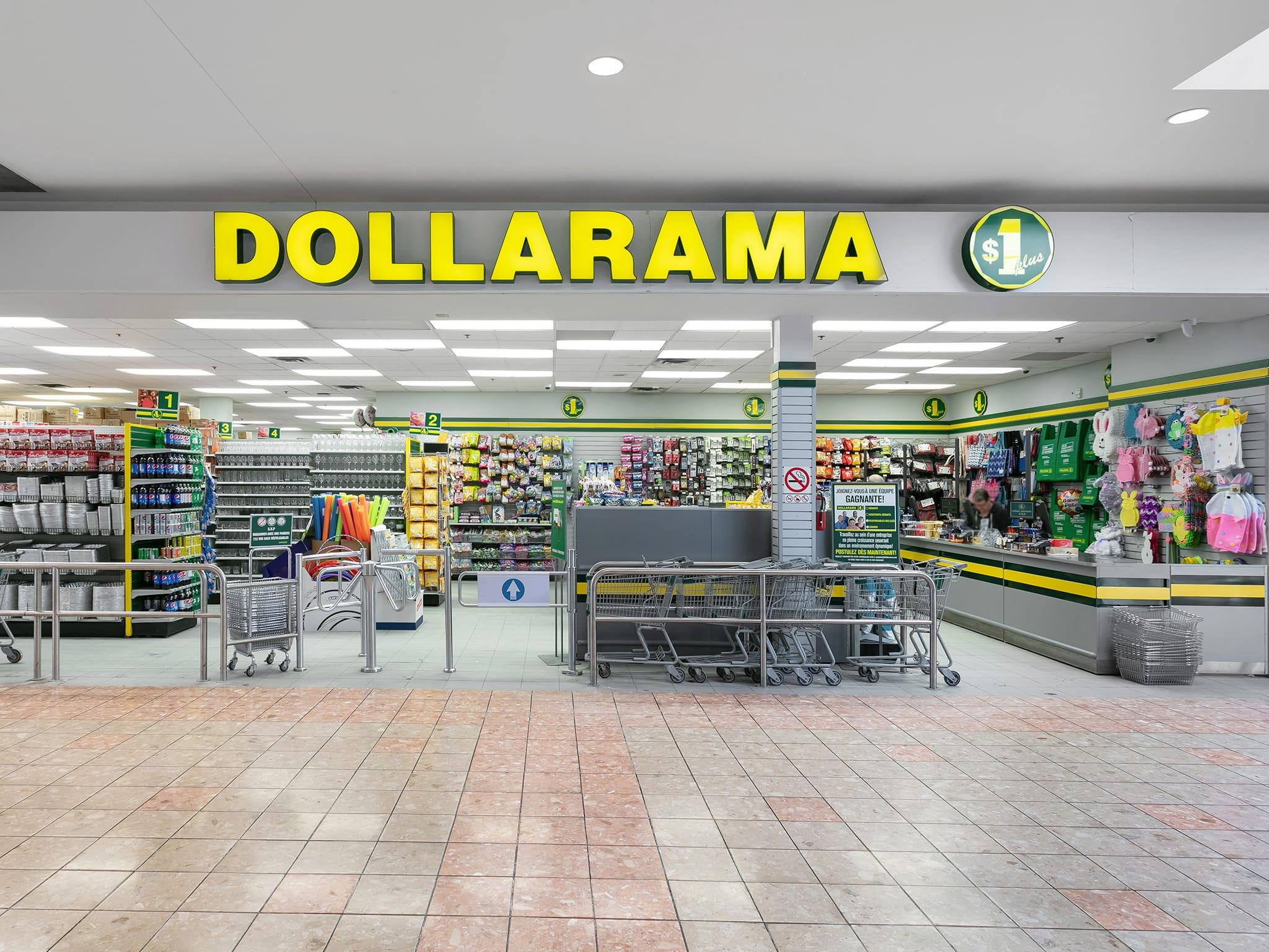 Dollarama - galeries - rive - nord