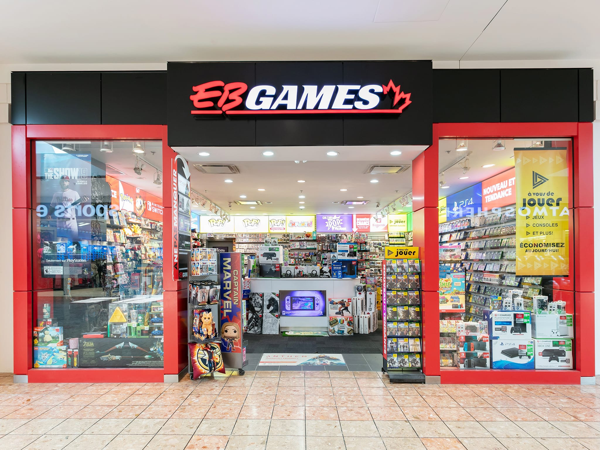 E.B. Games - galeries - rive - nord