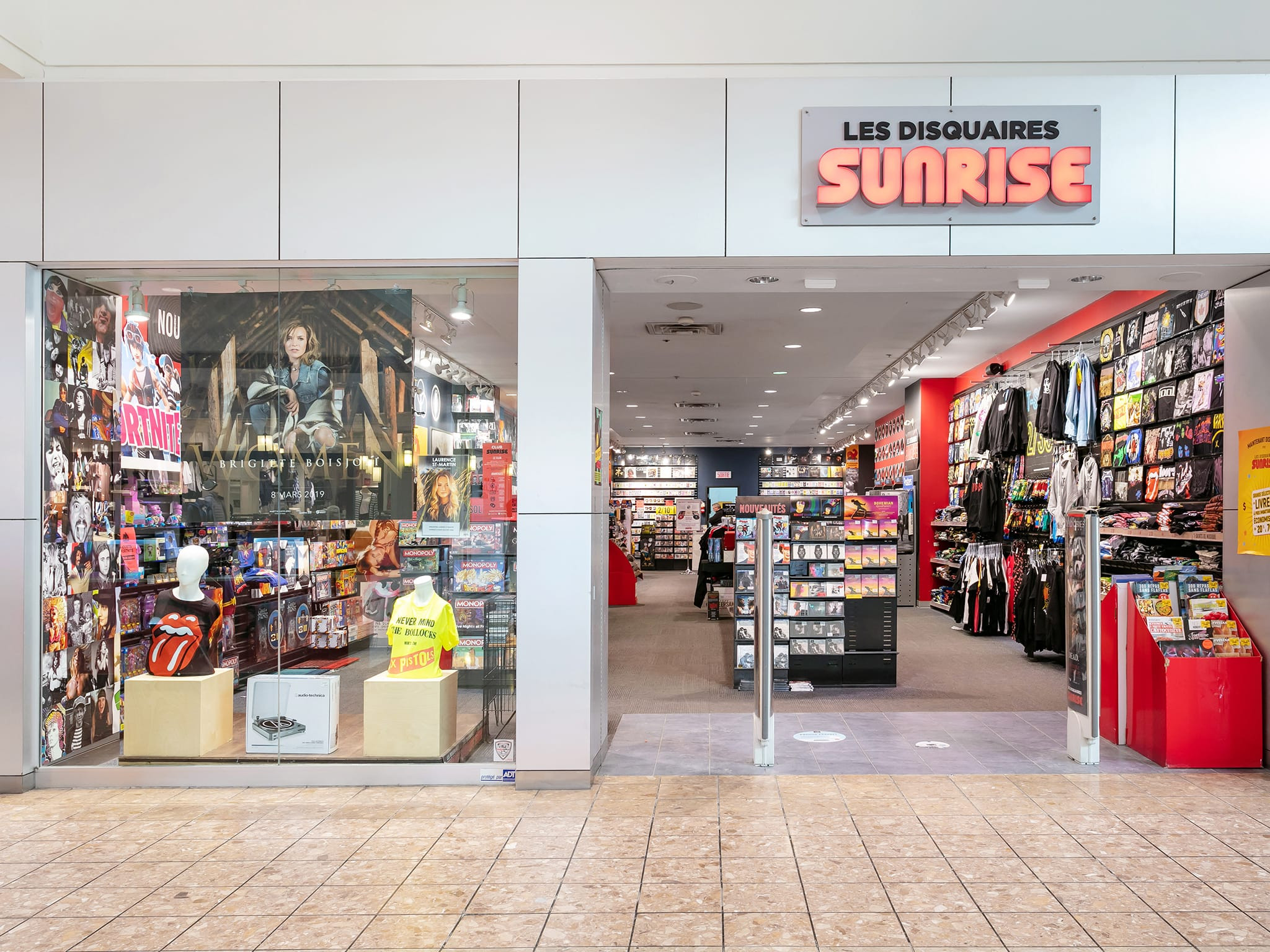 Sunrise Records - galeries - rive - nord