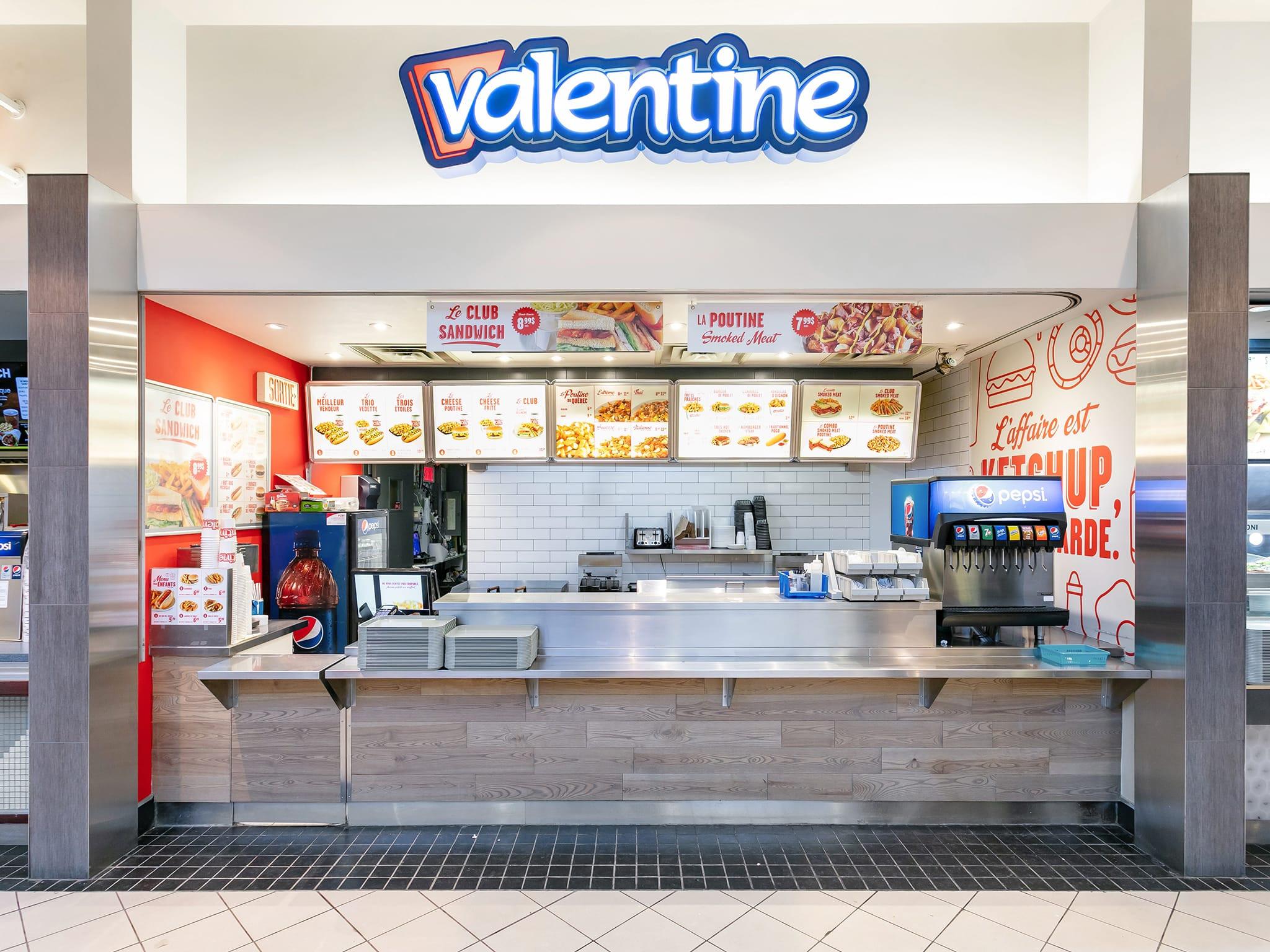 Valentine - galeries - rive - nord