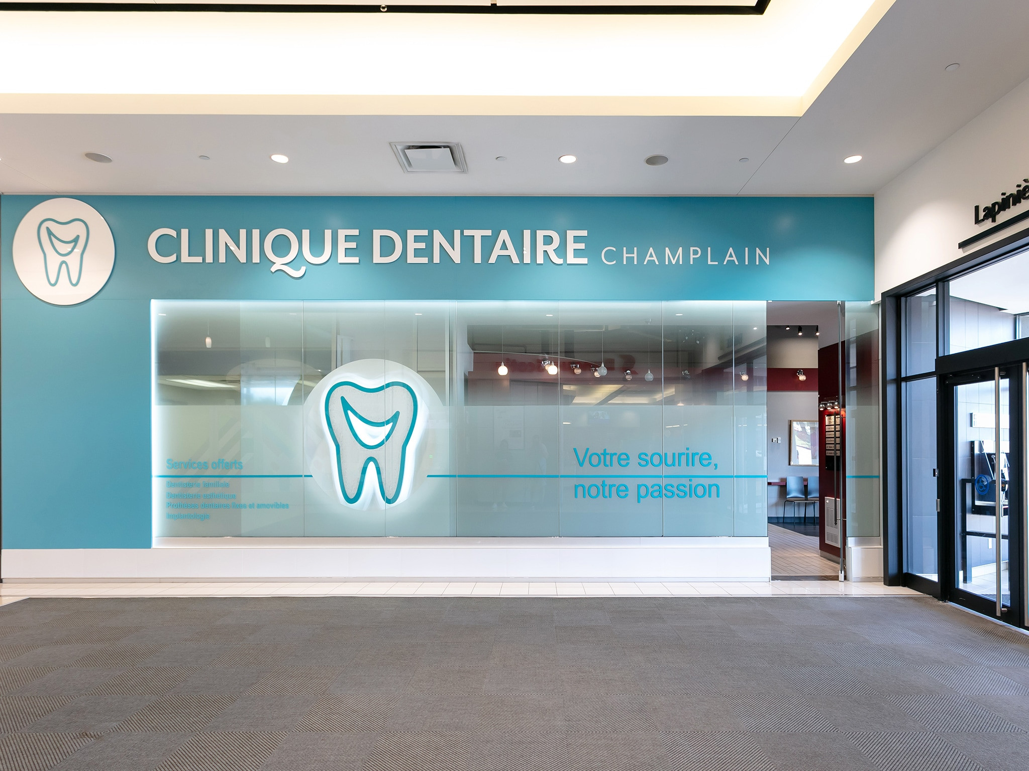 Clinique dentaire Champlain - Mail Champlain