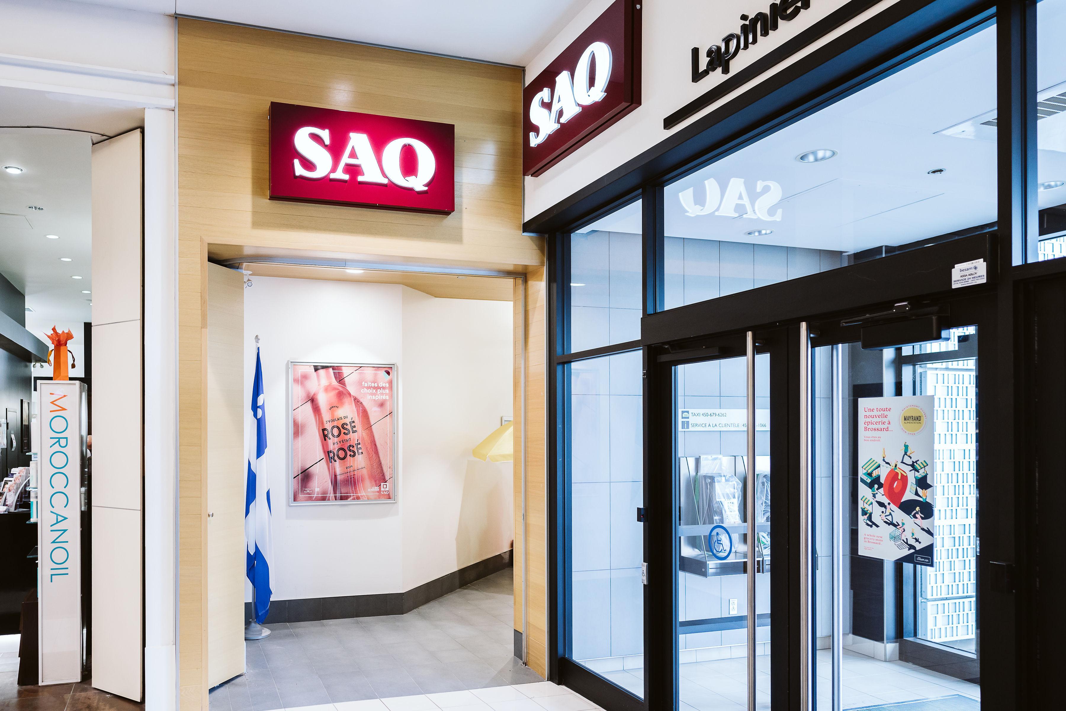 SAQ Classique - Mail Champlain
