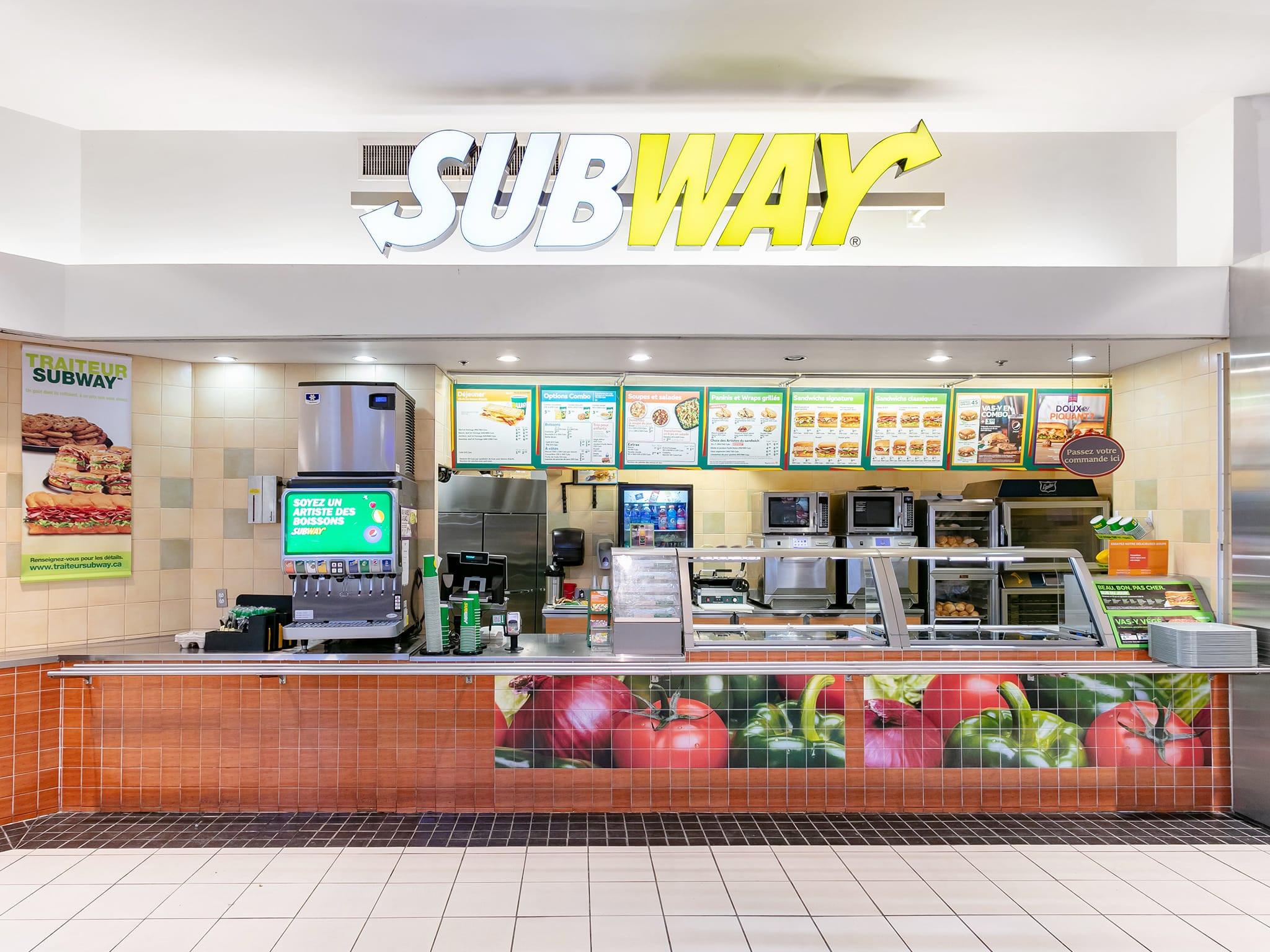 Subway - galeries - rive - nord