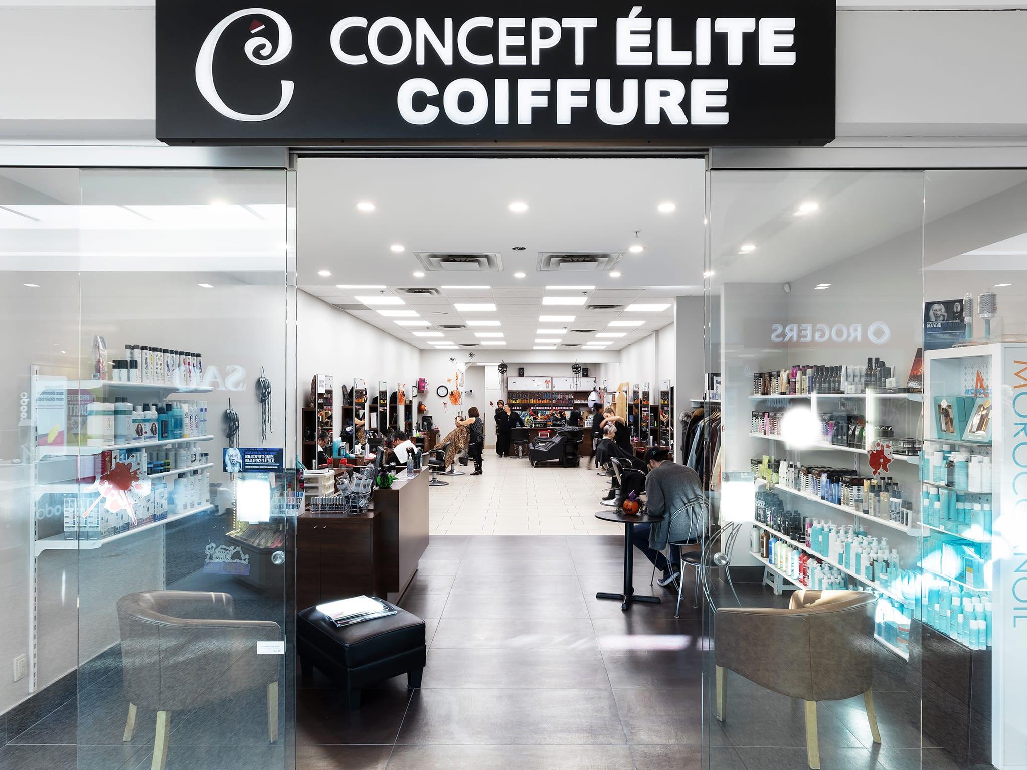 Concept Élite — Boutiques — Place Longueuil