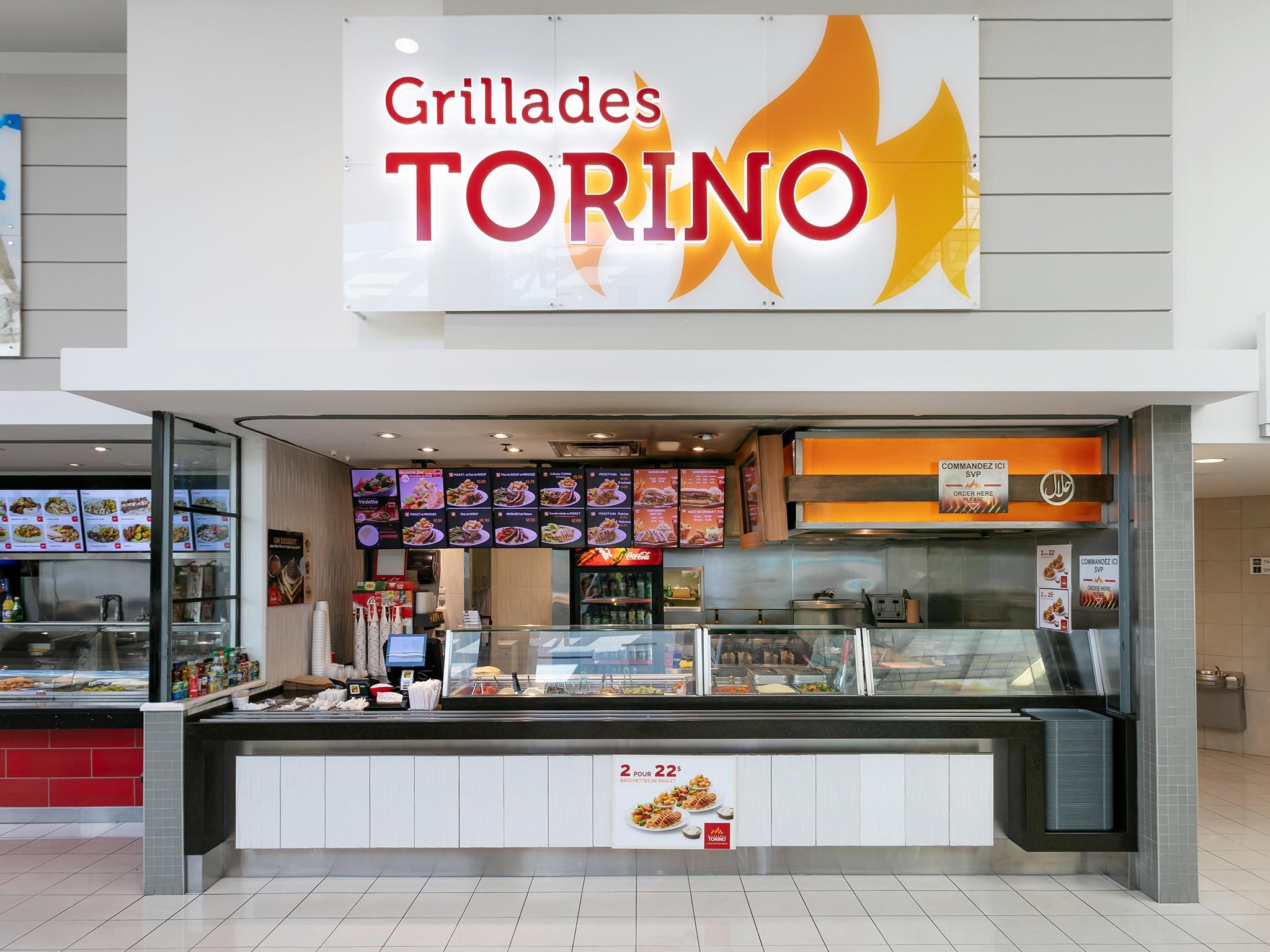 Grillades Torino - Mail Champlain