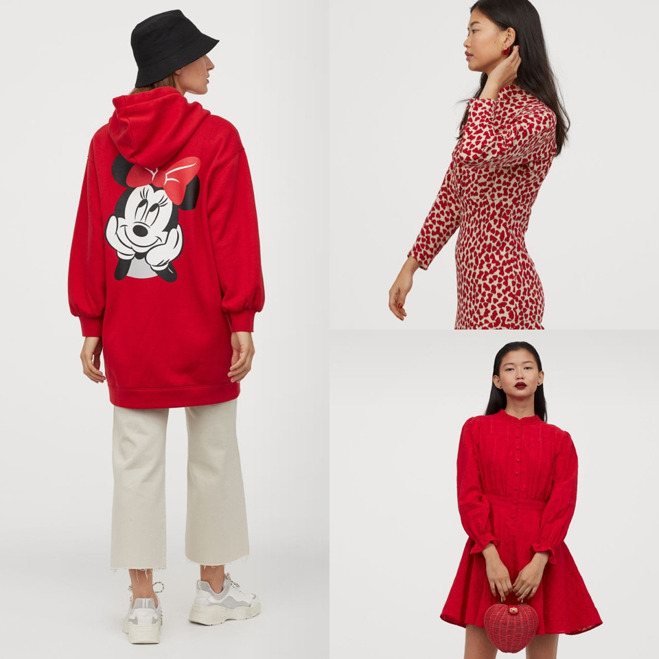 Red clothes for women Lunar New Year H&M - Rockland