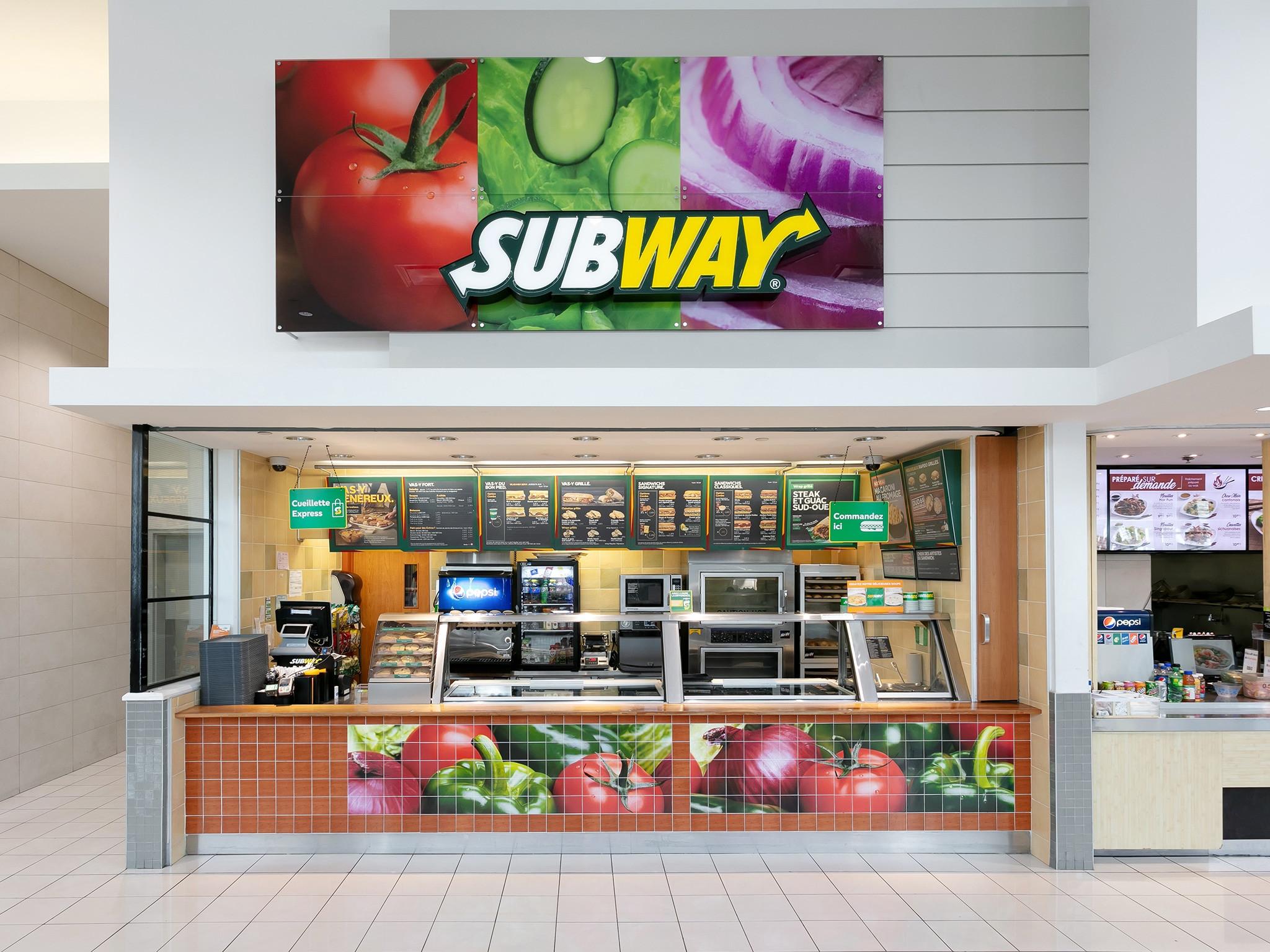 Subway - Mail Champlain
