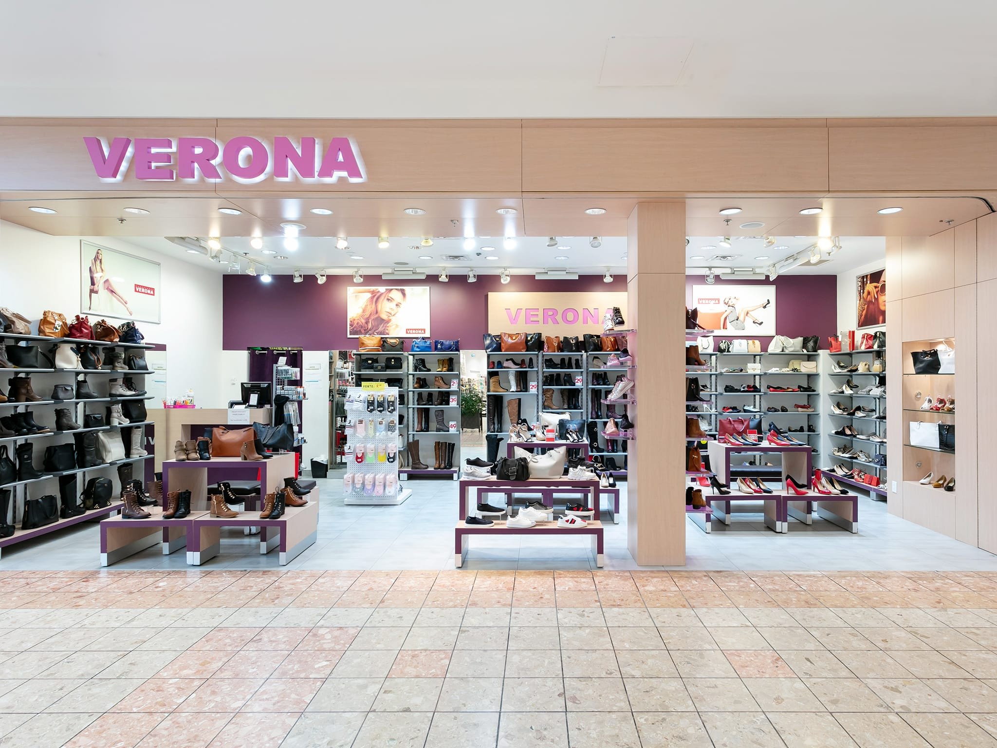 Chaussures Verona - galeries - rive - nord
