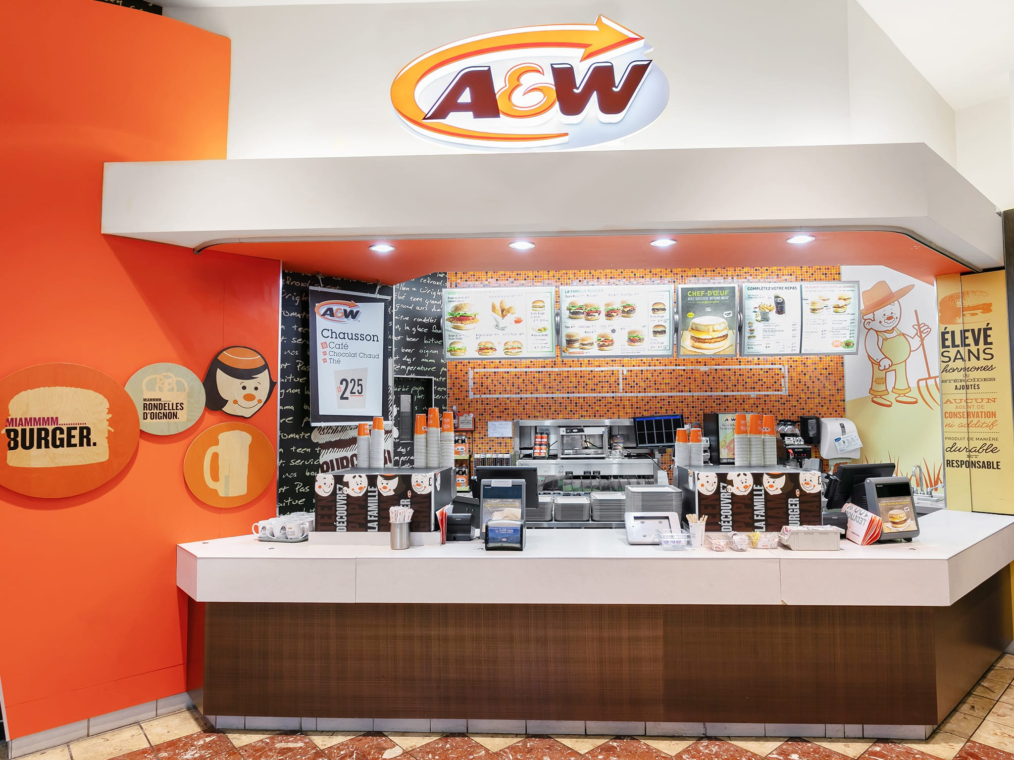 A&W - galeries - rive - nord