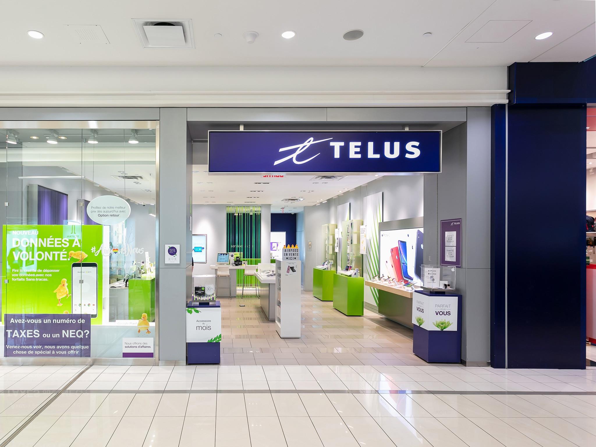 Telus - Mail Champlain