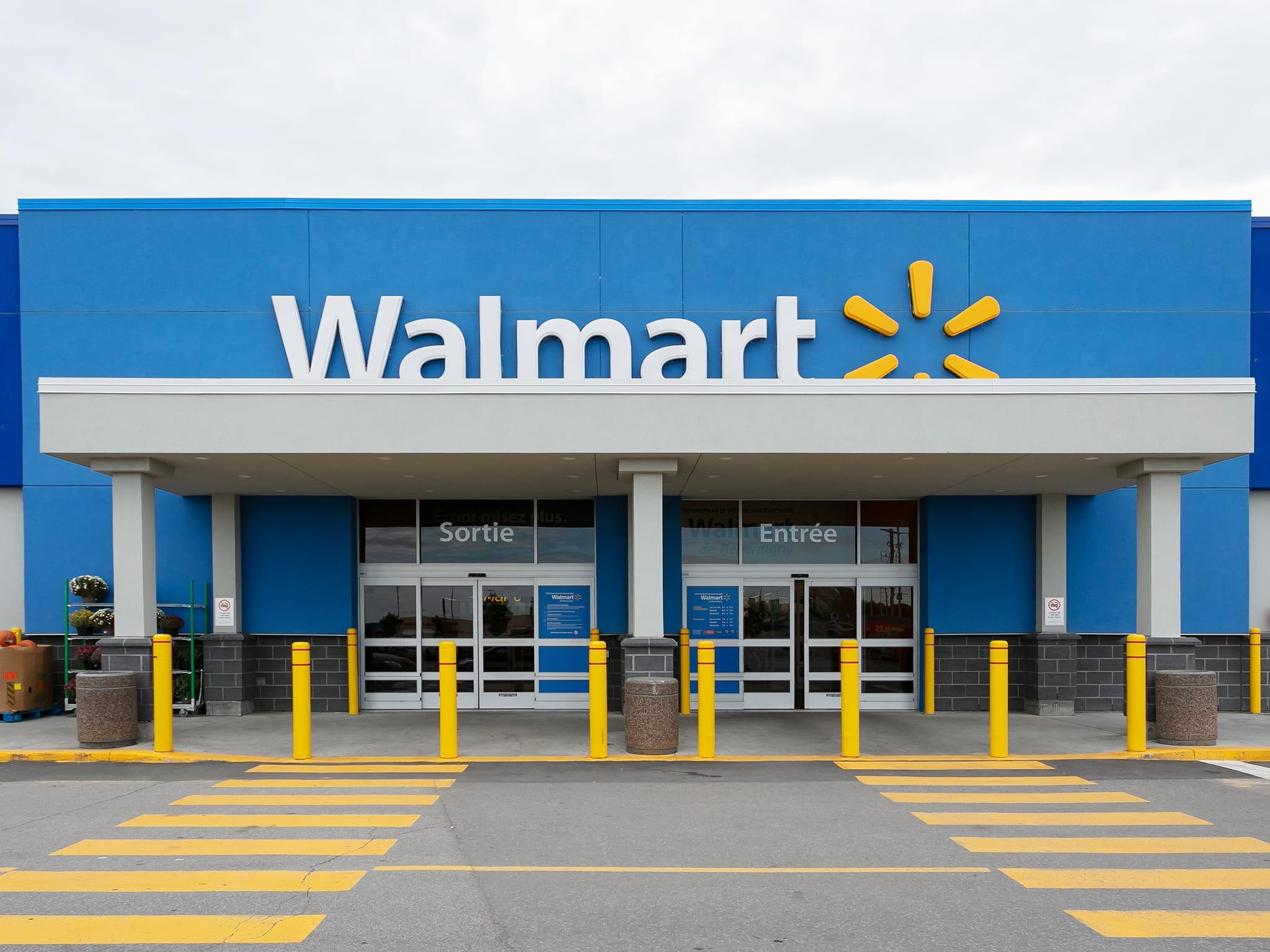 Walmart - galeries - rive - nord