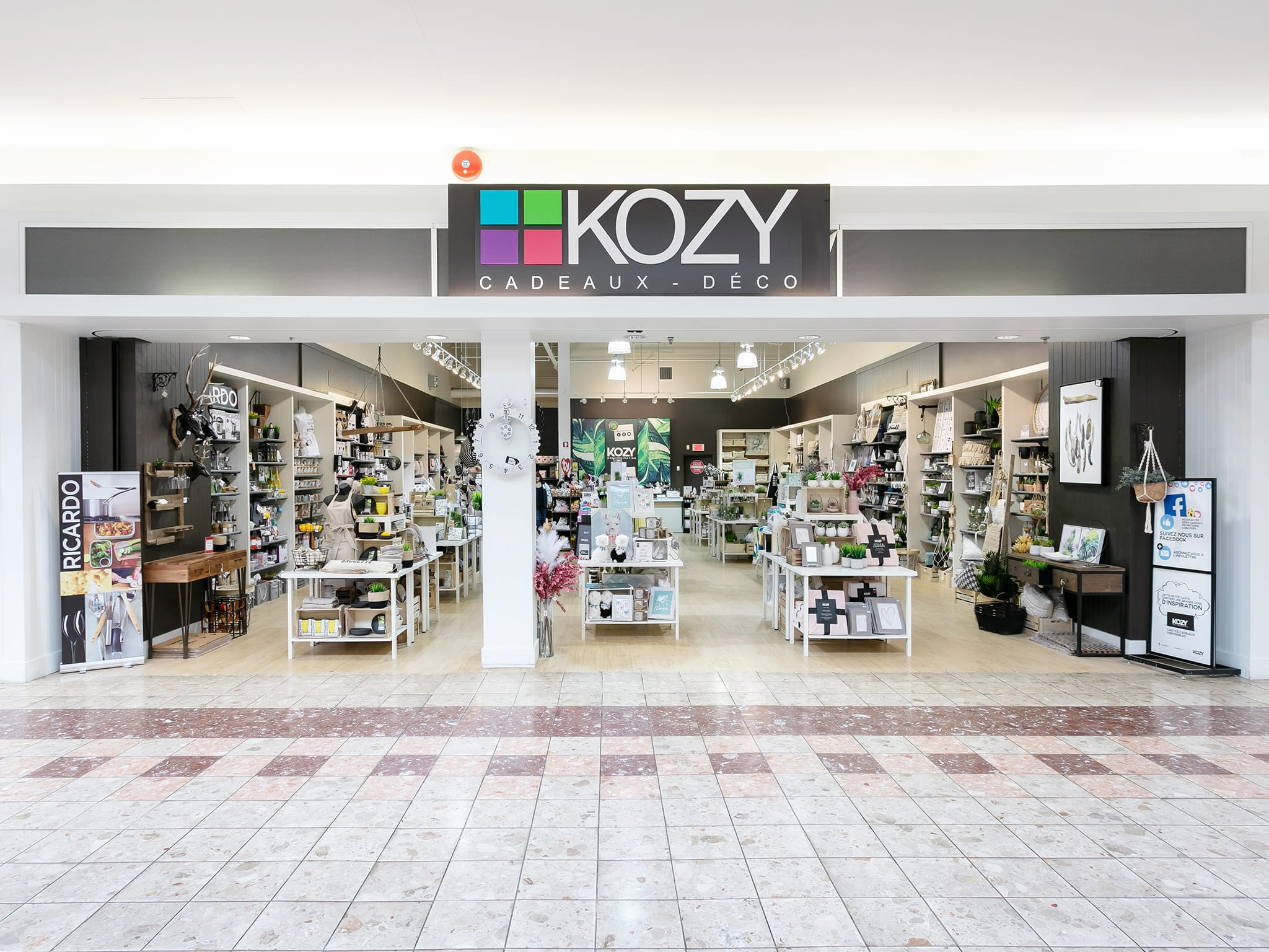 Kozy Cadeaux Déco - galeries - rive - nord