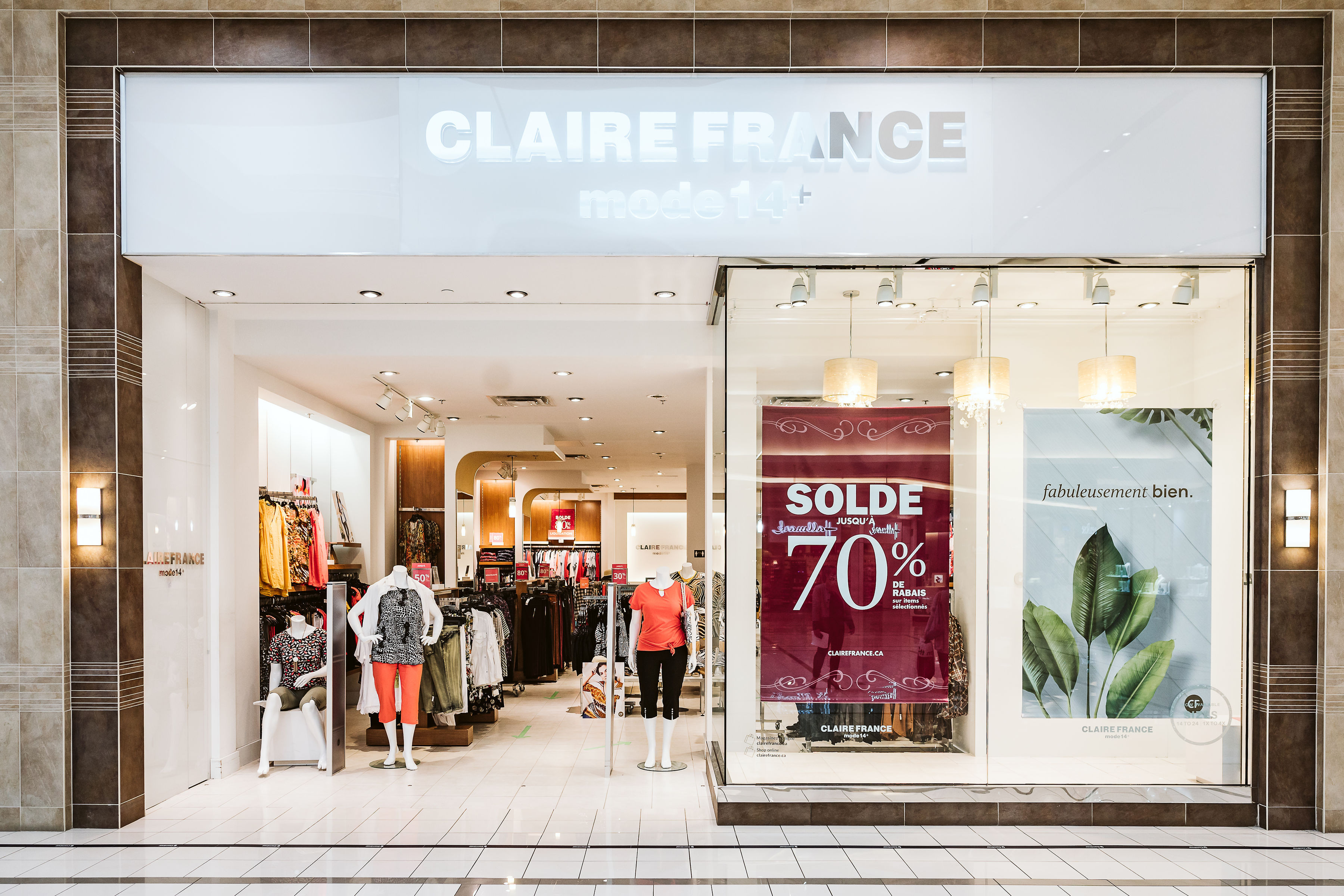Claire France Mode 14+ - Mail Champlain