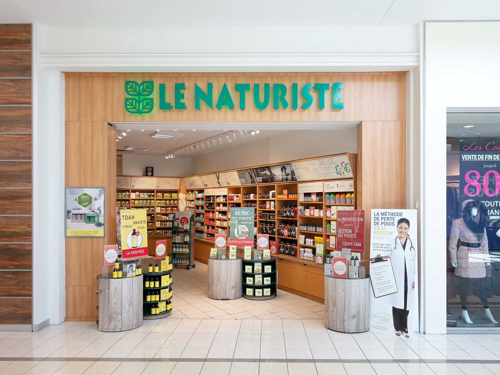 Le Naturiste - Mail Champlain
