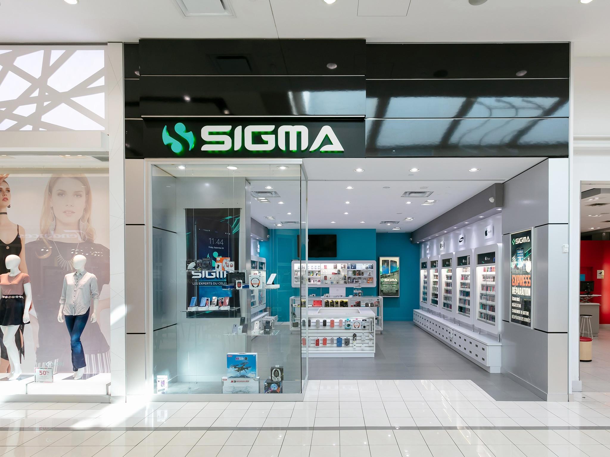 Sigma Plus - Mail Champlain