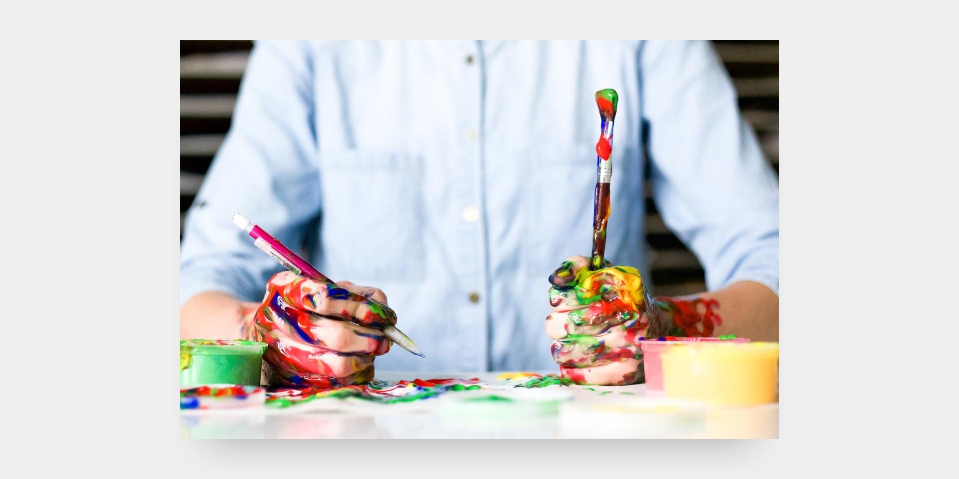 Bricoler peinturer enfants relâche - Les Rivières