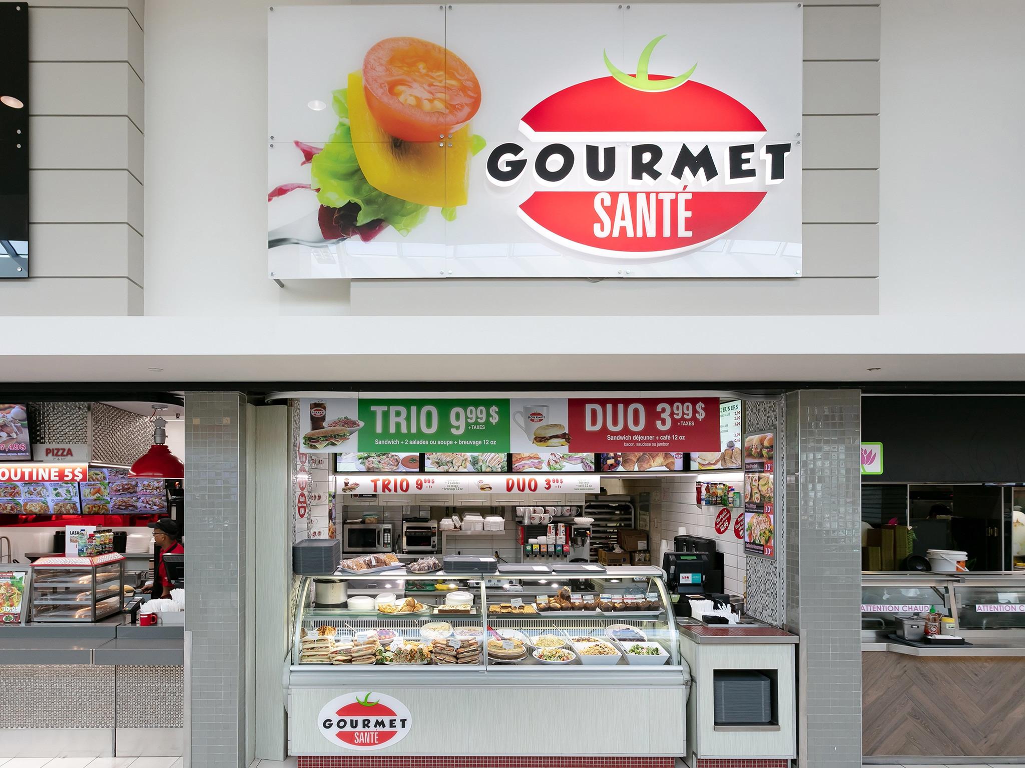 Gourmet Santé - Mail Champlain