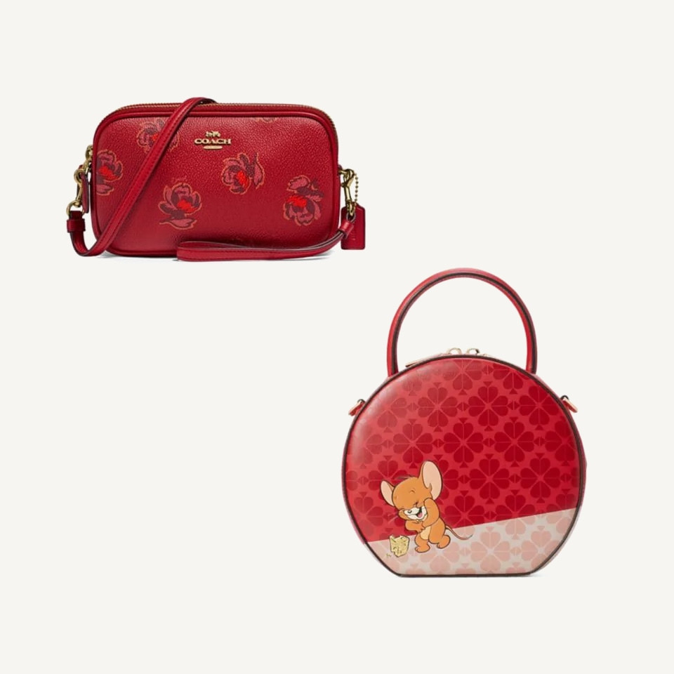 Red purses Lunar New Year Coach Kate Spade The Bay - Rockland