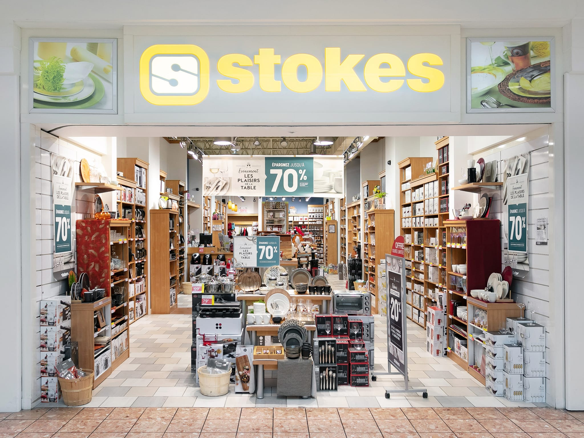 Stokes - galeries - rive - nord