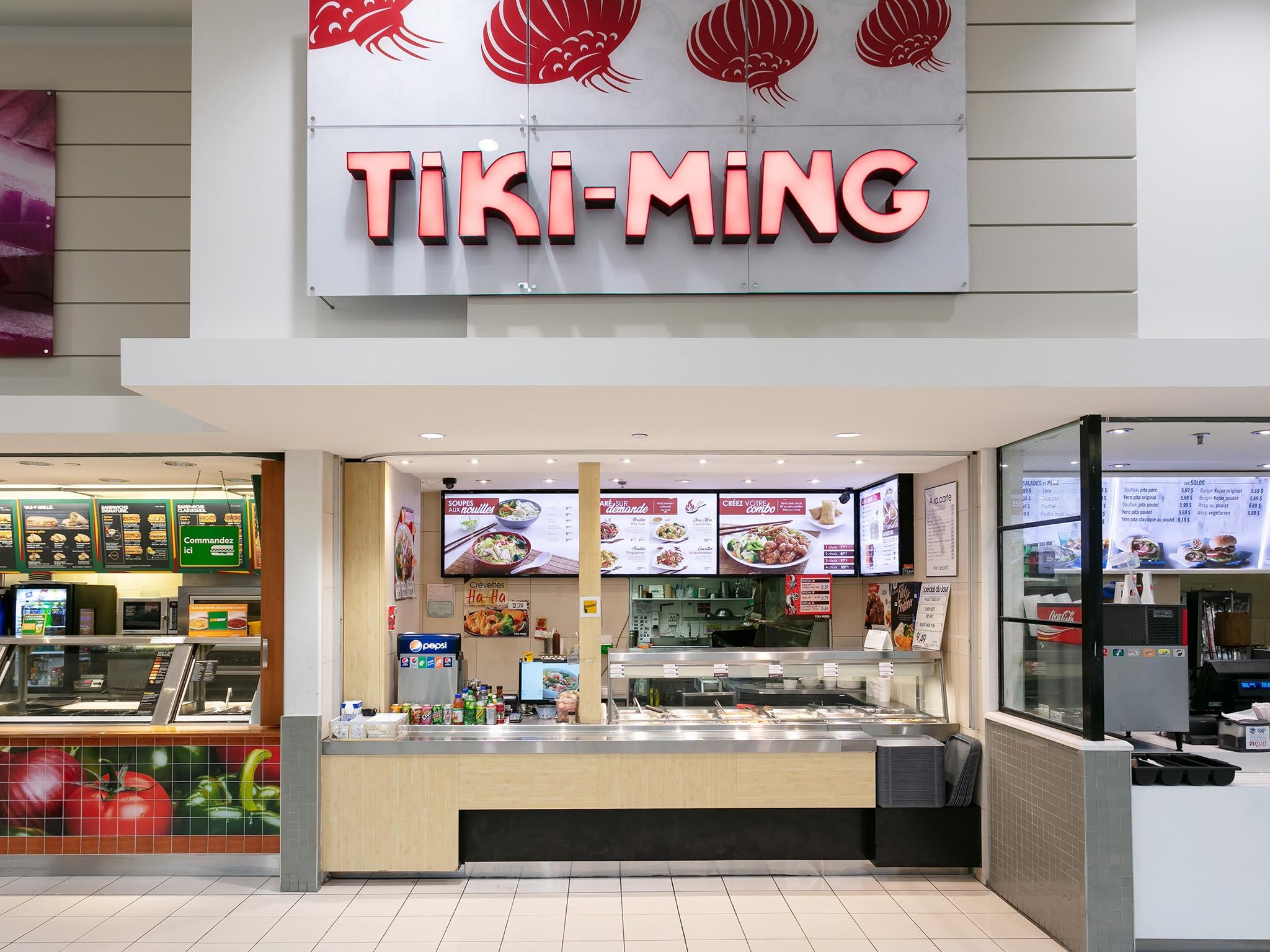 Tiki -Ming - Mail Champlain