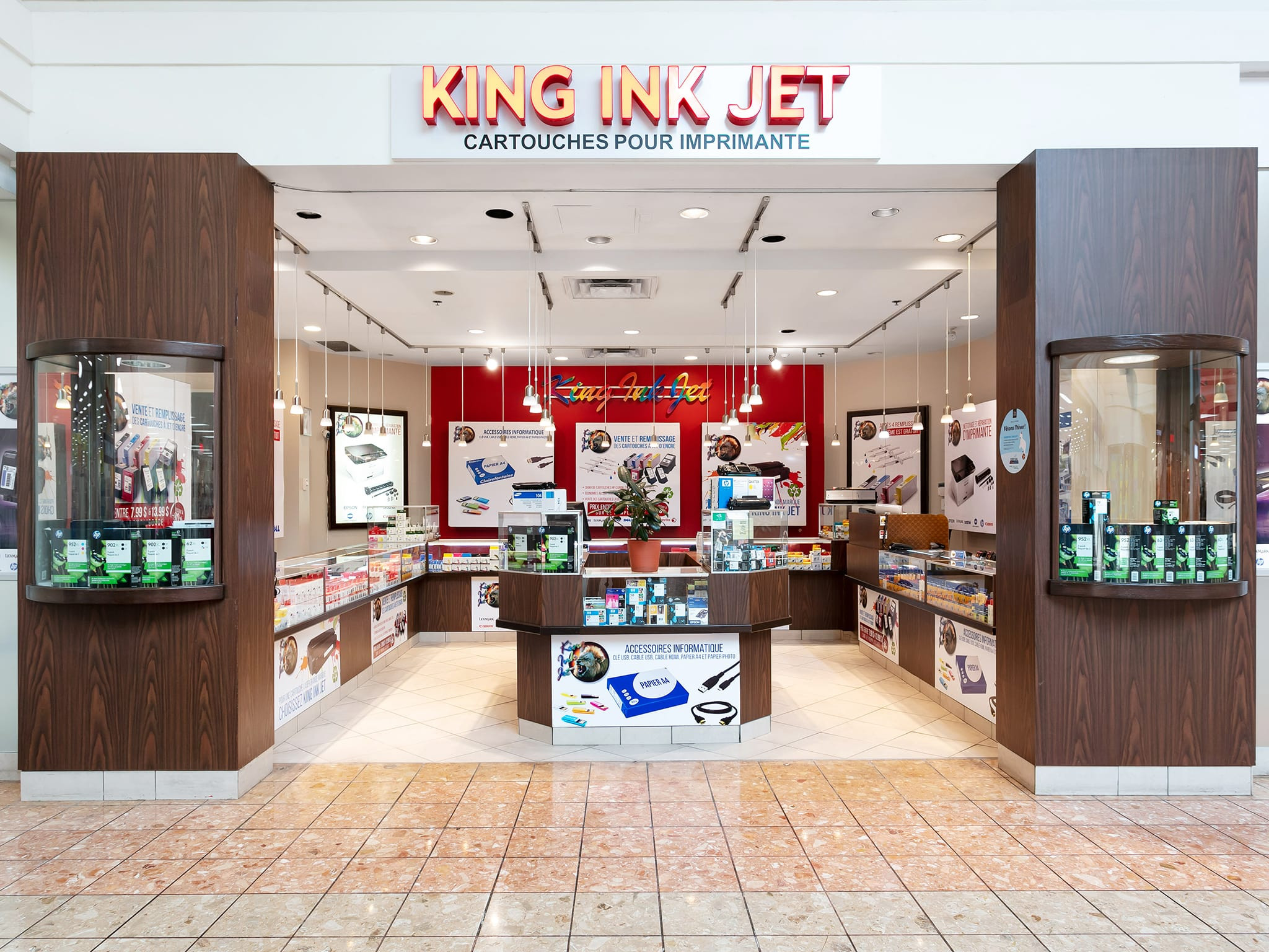 King Ink Jet - galeries - rive - nord