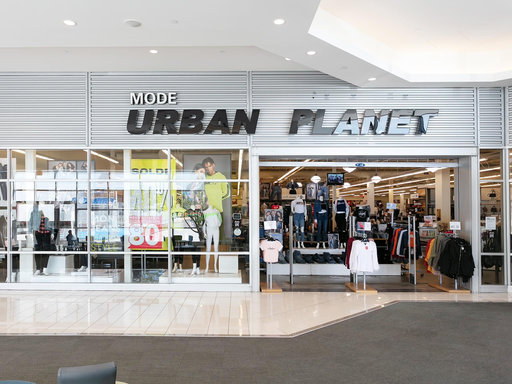 Urban Planet - Mail Champlain