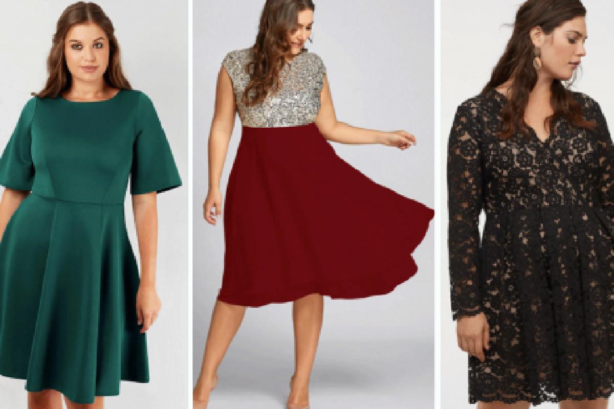 5 styles de robes de Noël pour mettre vos courbes en valeur - Les Rivières